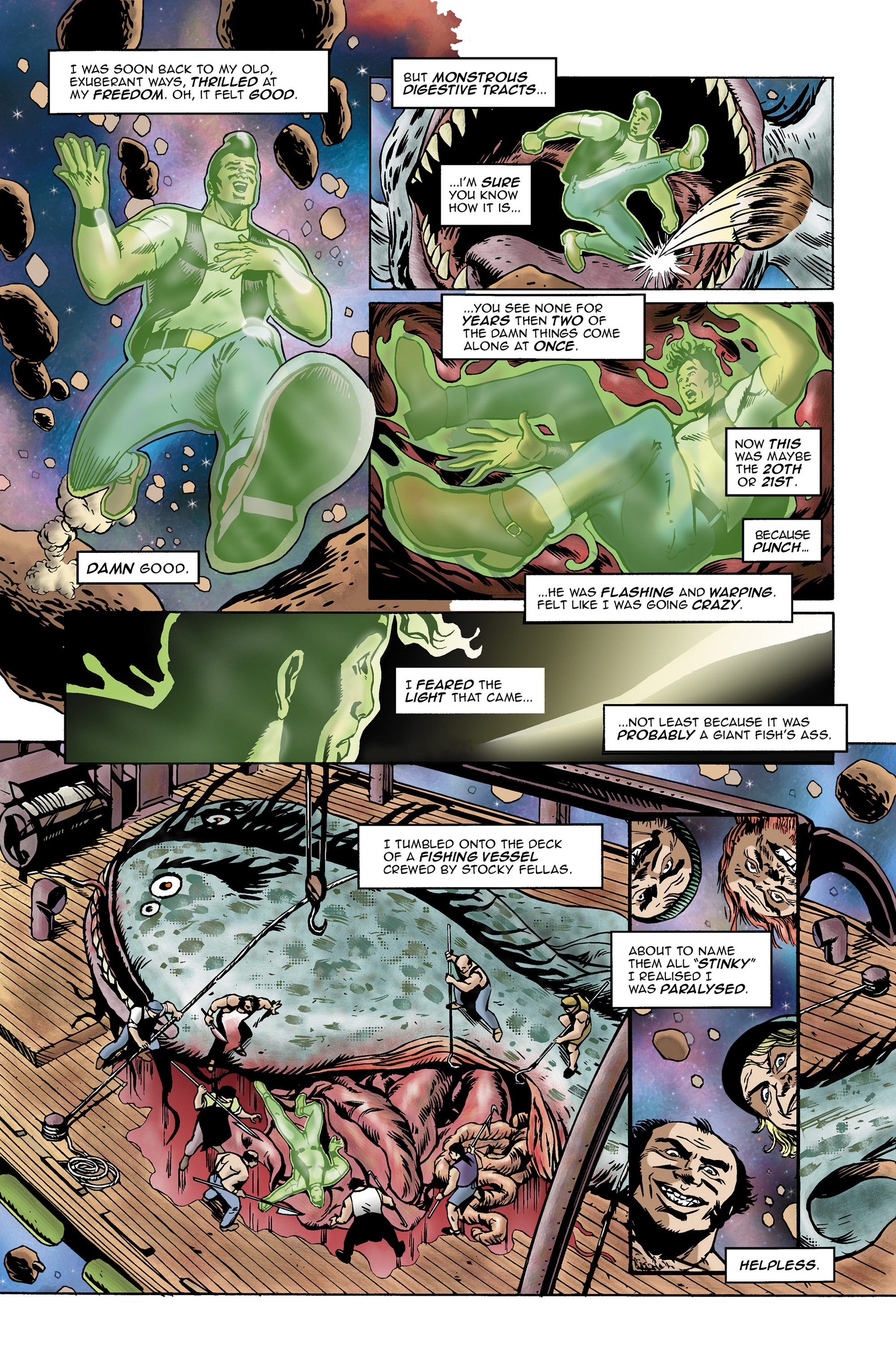 Read online 100% Biodegradable comic -  Issue #14 - 10
