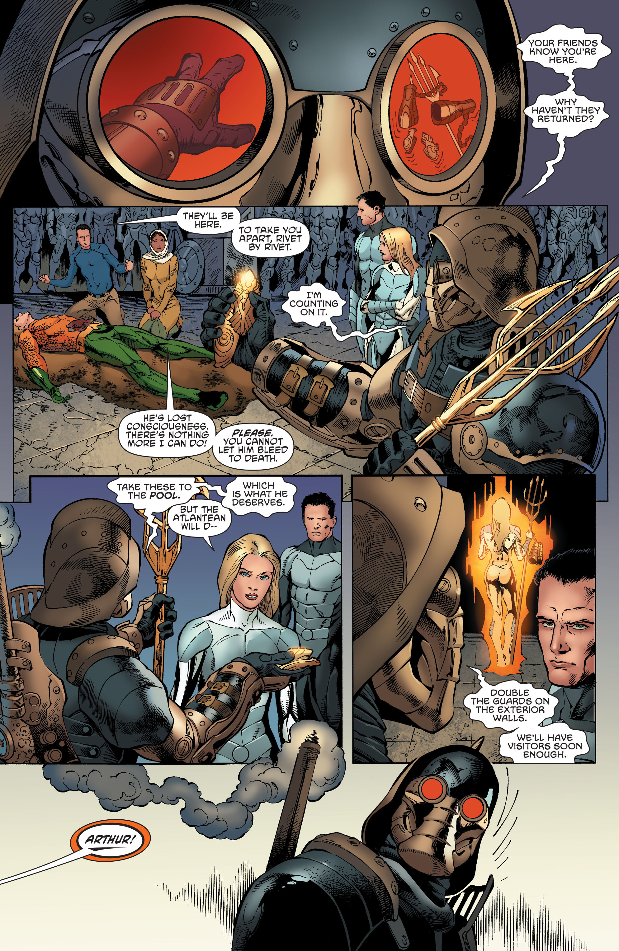 Read online Aquaman and the Others comic -  Issue #4 - 13