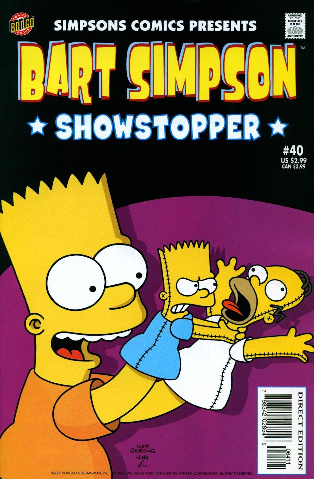 Simpsons Comics Presents Bart Simpson 40 Page 1