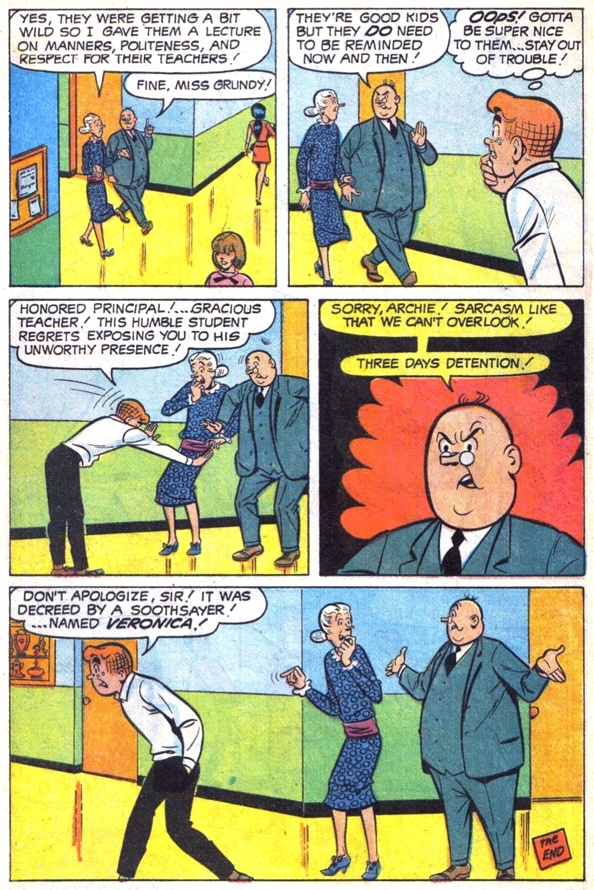Read online Archie (1960) comic -  Issue #187 - 8