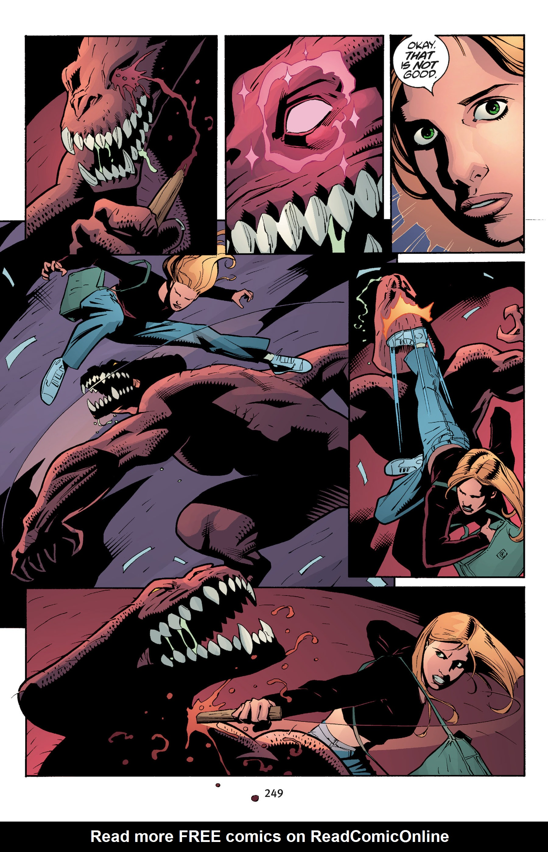 Read online Buffy the Vampire Slayer: Omnibus comic -  Issue # TPB 5 - 248