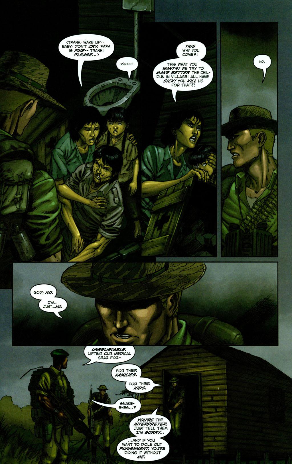 Read online Snake Eyes: Declassified comic -  Issue #1 - 13