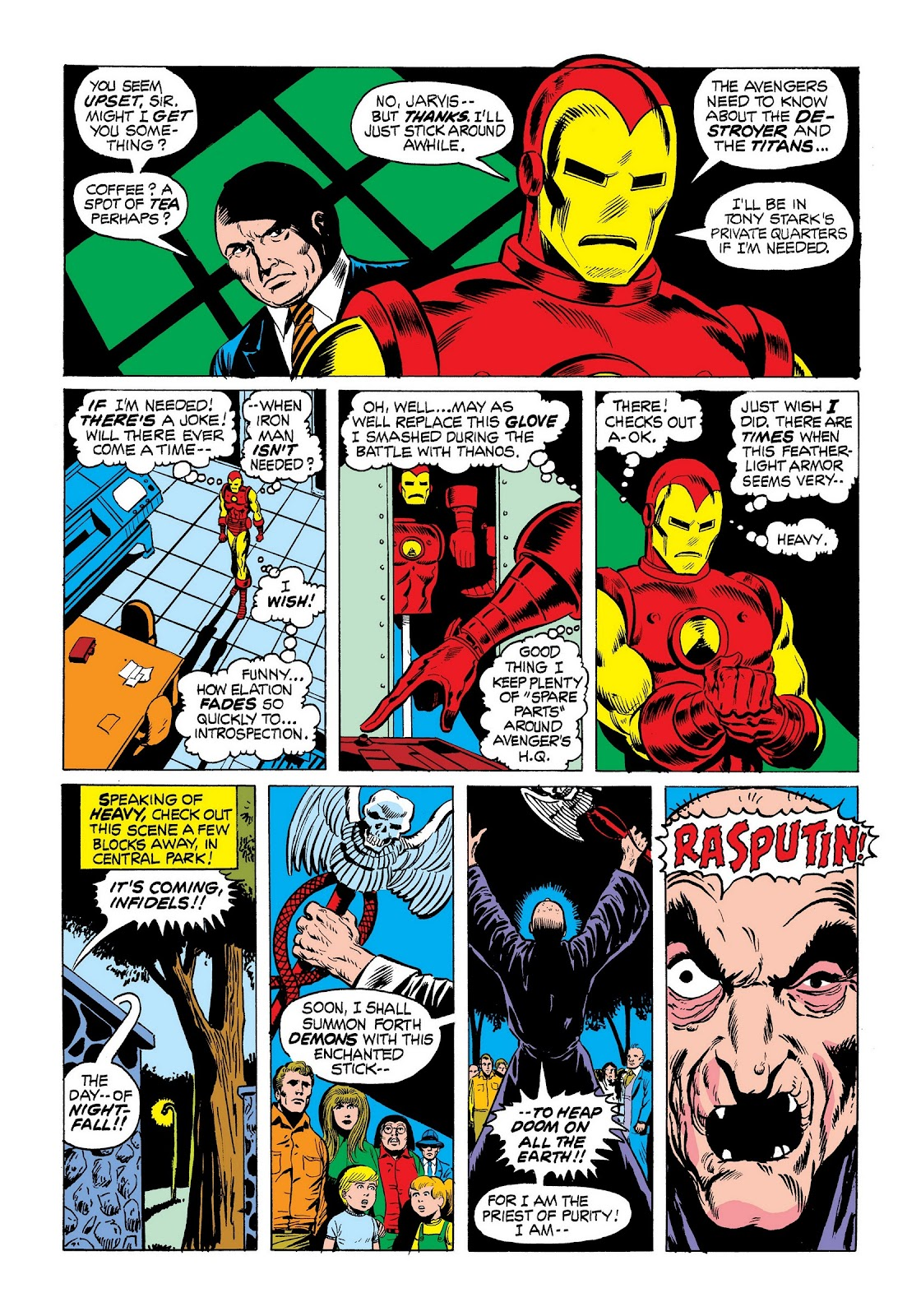 Read online Marvel Masterworks: The Invincible Iron Man comic -  Issue # TPB 9 (Part 1) - 52