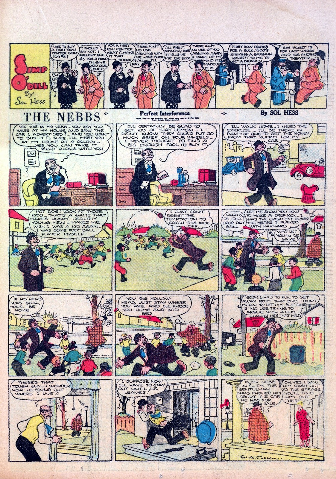 Read online Famous Funnies comic -  Issue #5 - 35