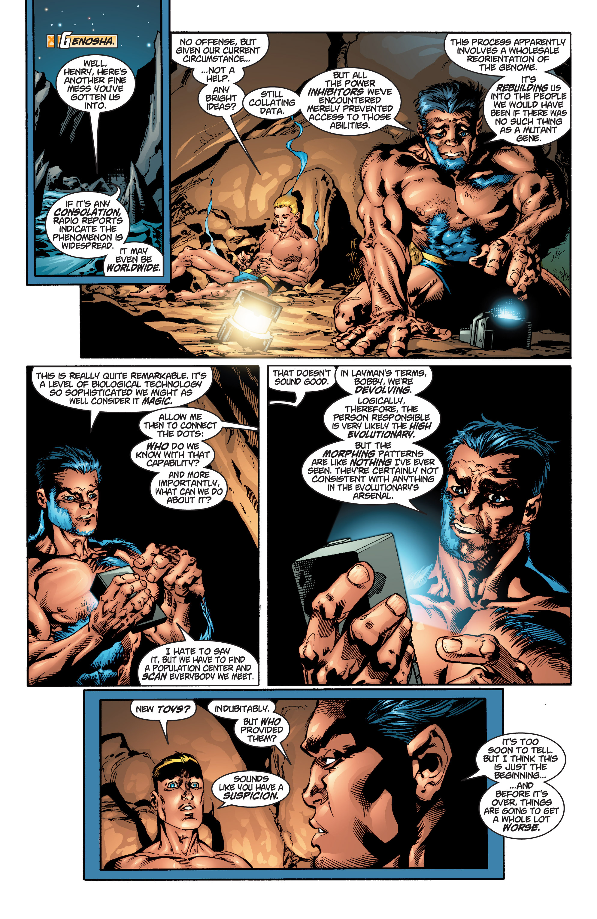 Read online Uncanny X-Men (1963) comic -  Issue #379 - 20