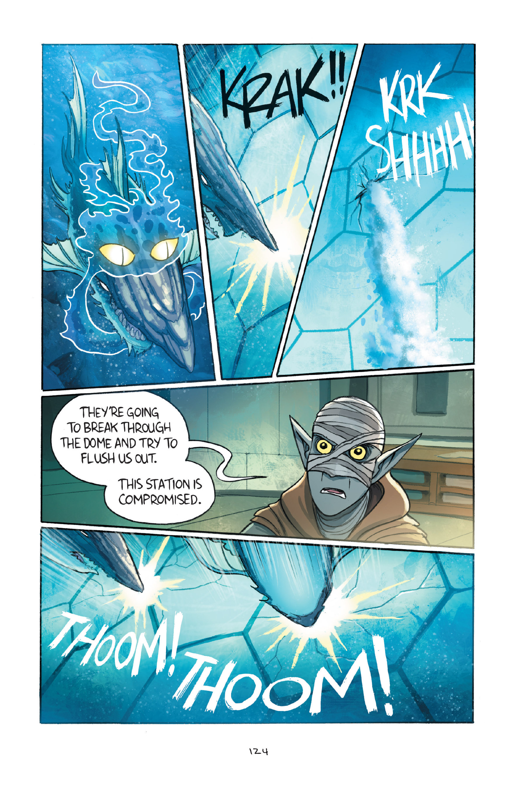 Read online Amulet comic -  Issue #7 - 124