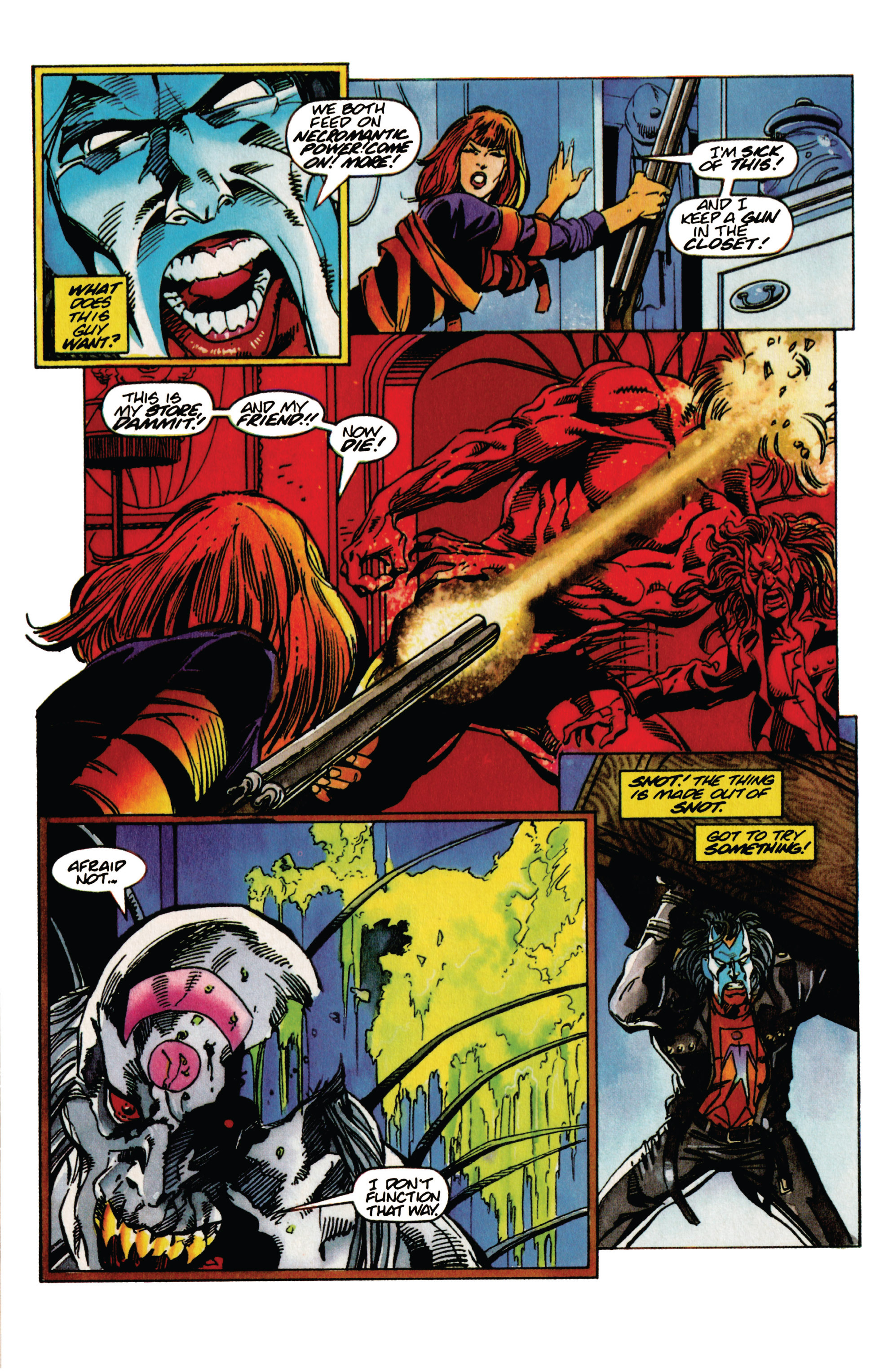 Read online Shadowman (1992) comic -  Issue #31 - 17