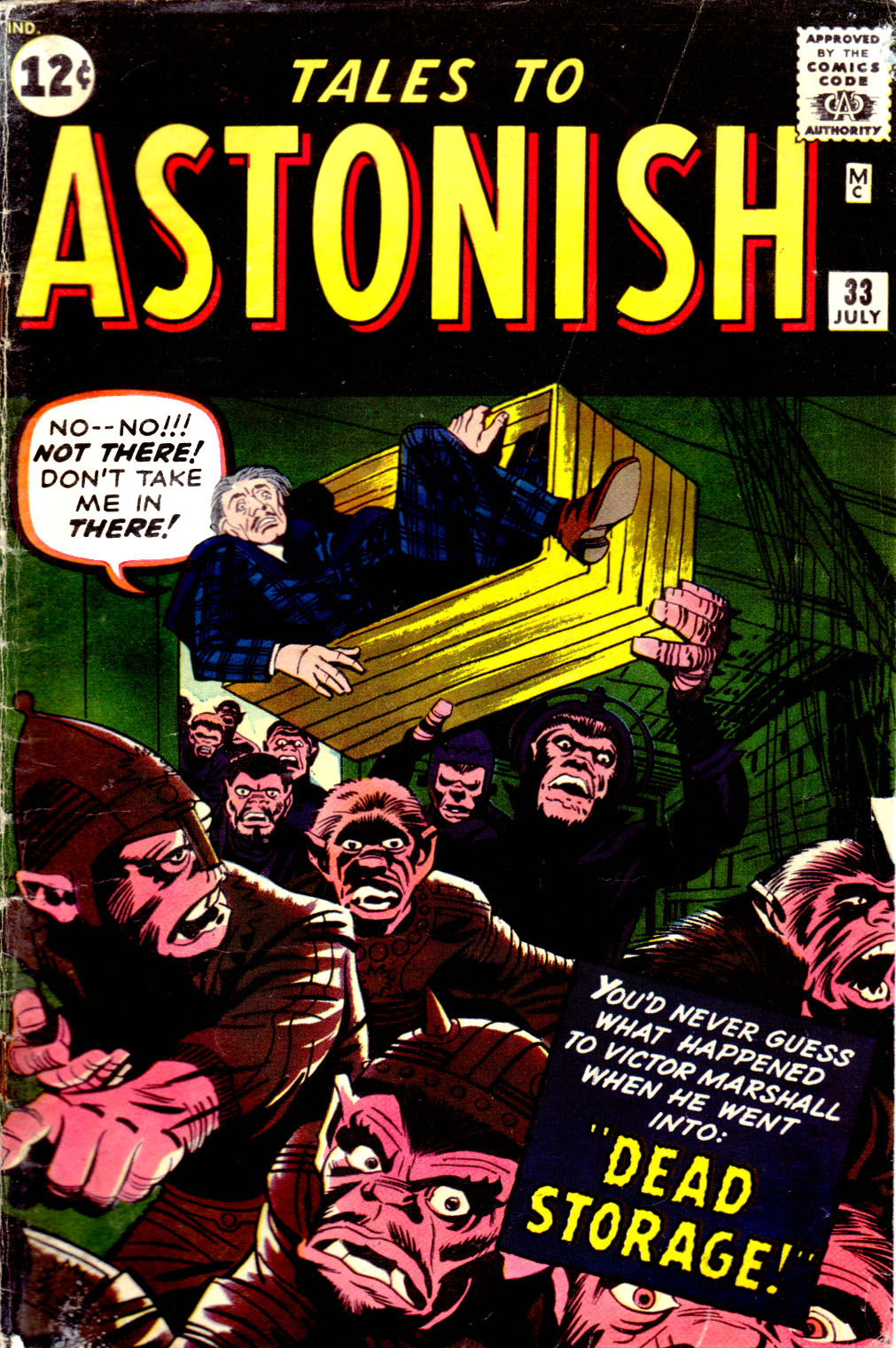 Tales to Astonish (1959) issue 33 - Page 1