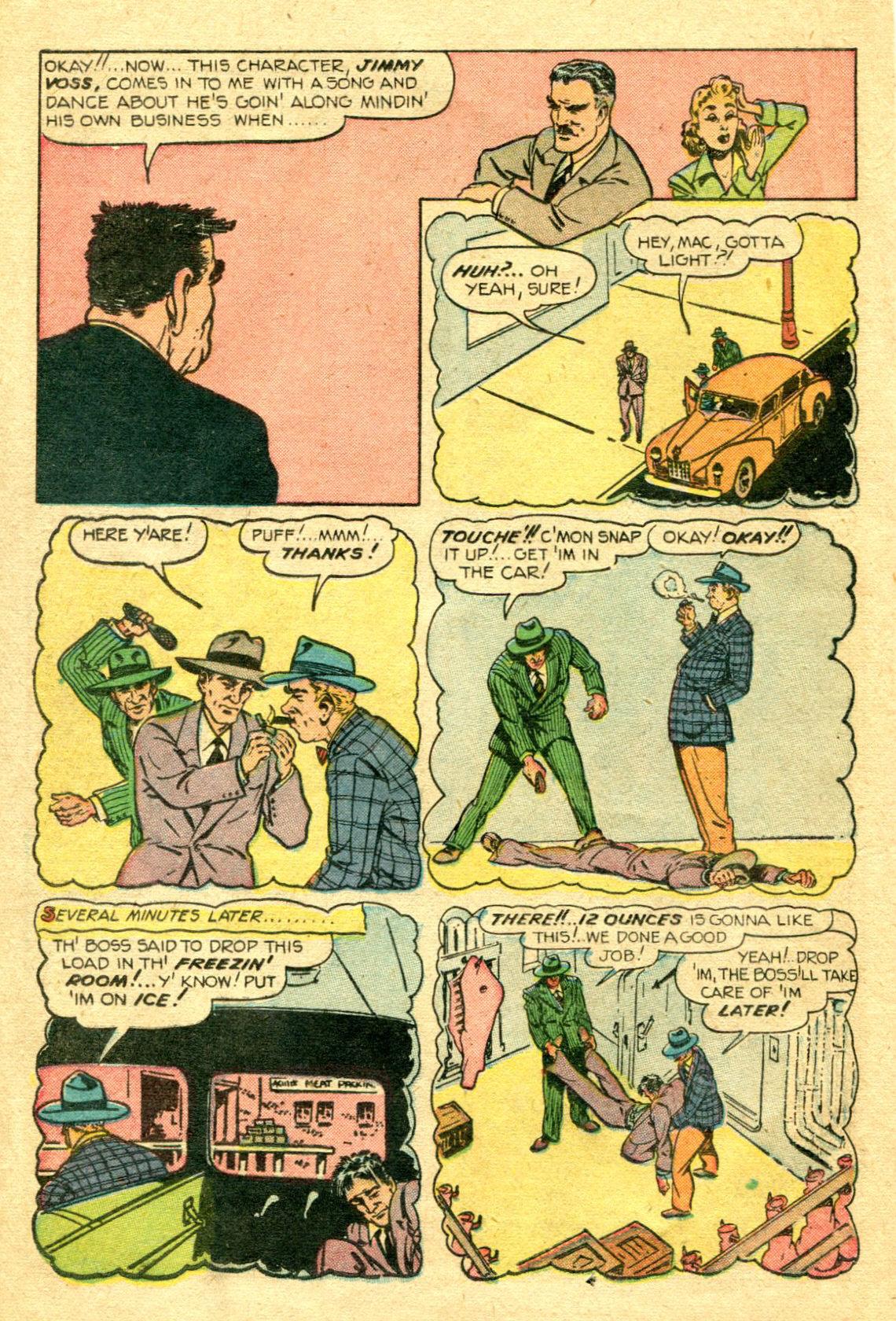 Read online Shadow Comics comic -  Issue #75 - 23
