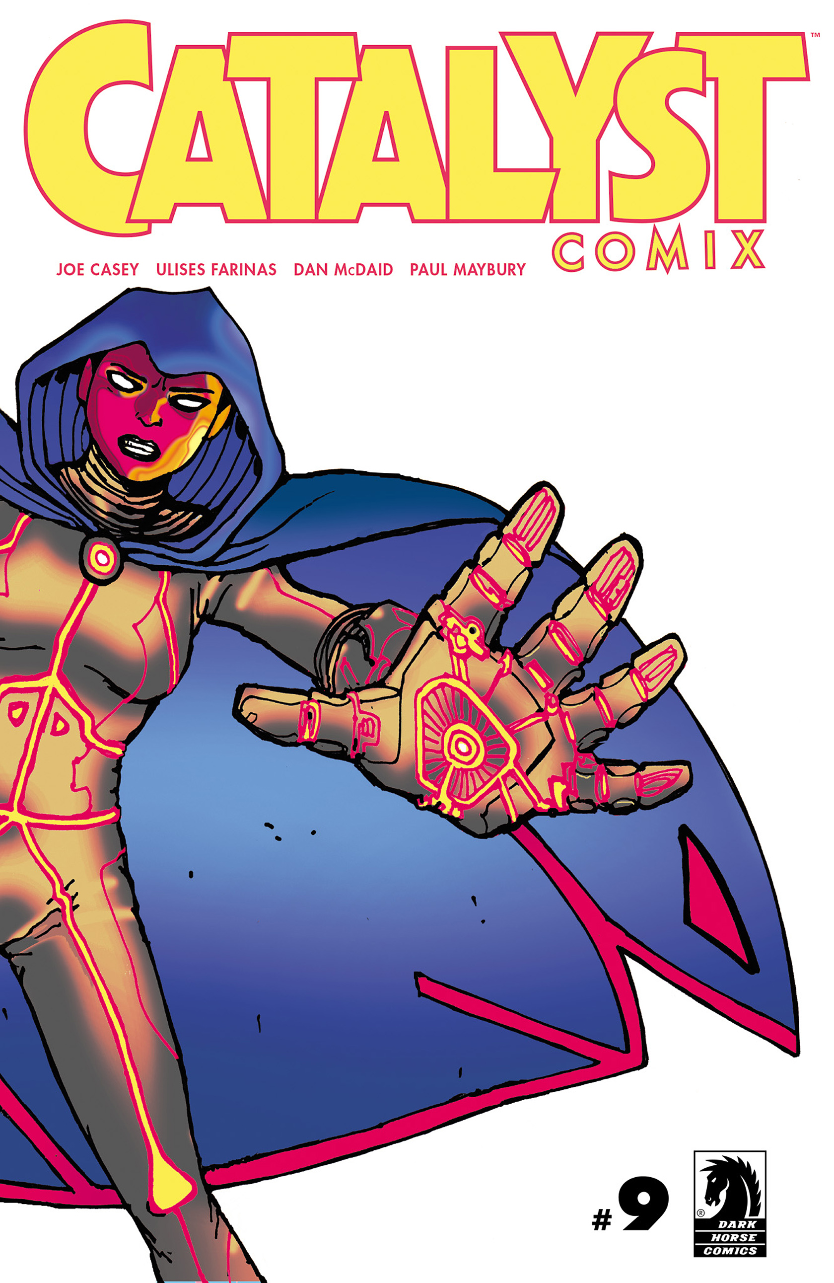 Read online Catalyst Comix comic -  Issue #9 - 1