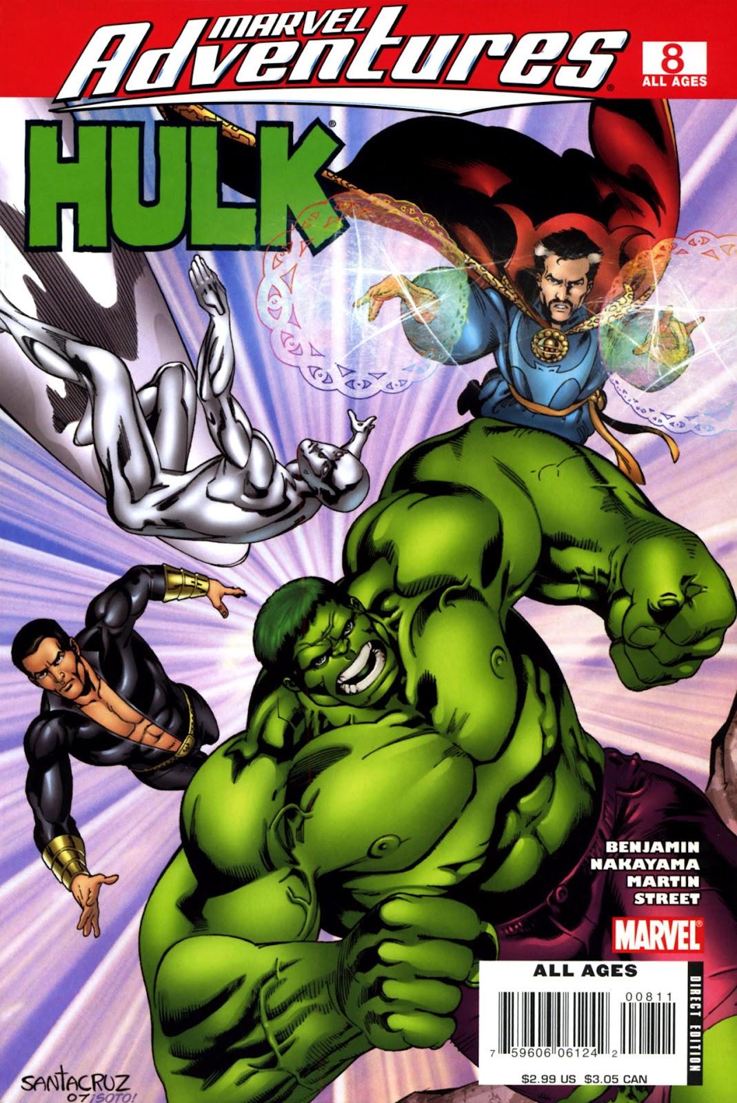 Marvel Adventures Hulk issue 8 - Page 1