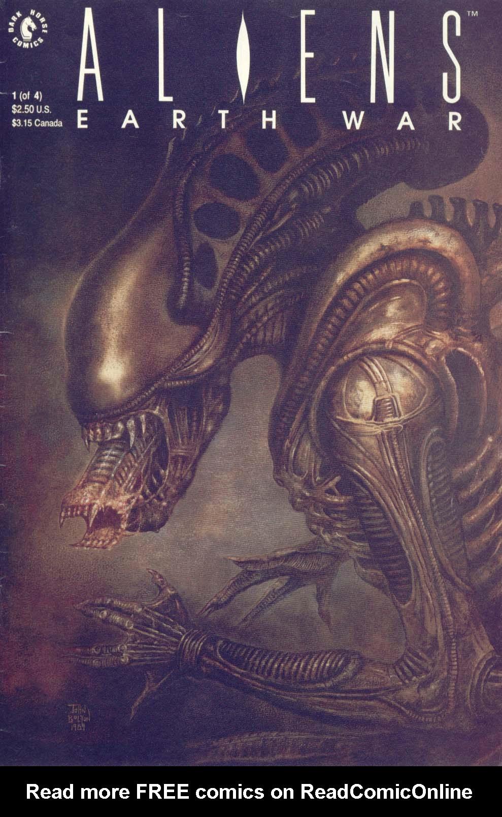 Read online Aliens: Earth War comic -  Issue #1 - 1