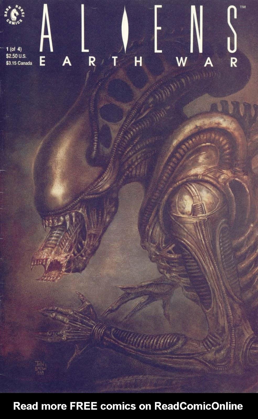 Aliens: Earth War 1 Page 1