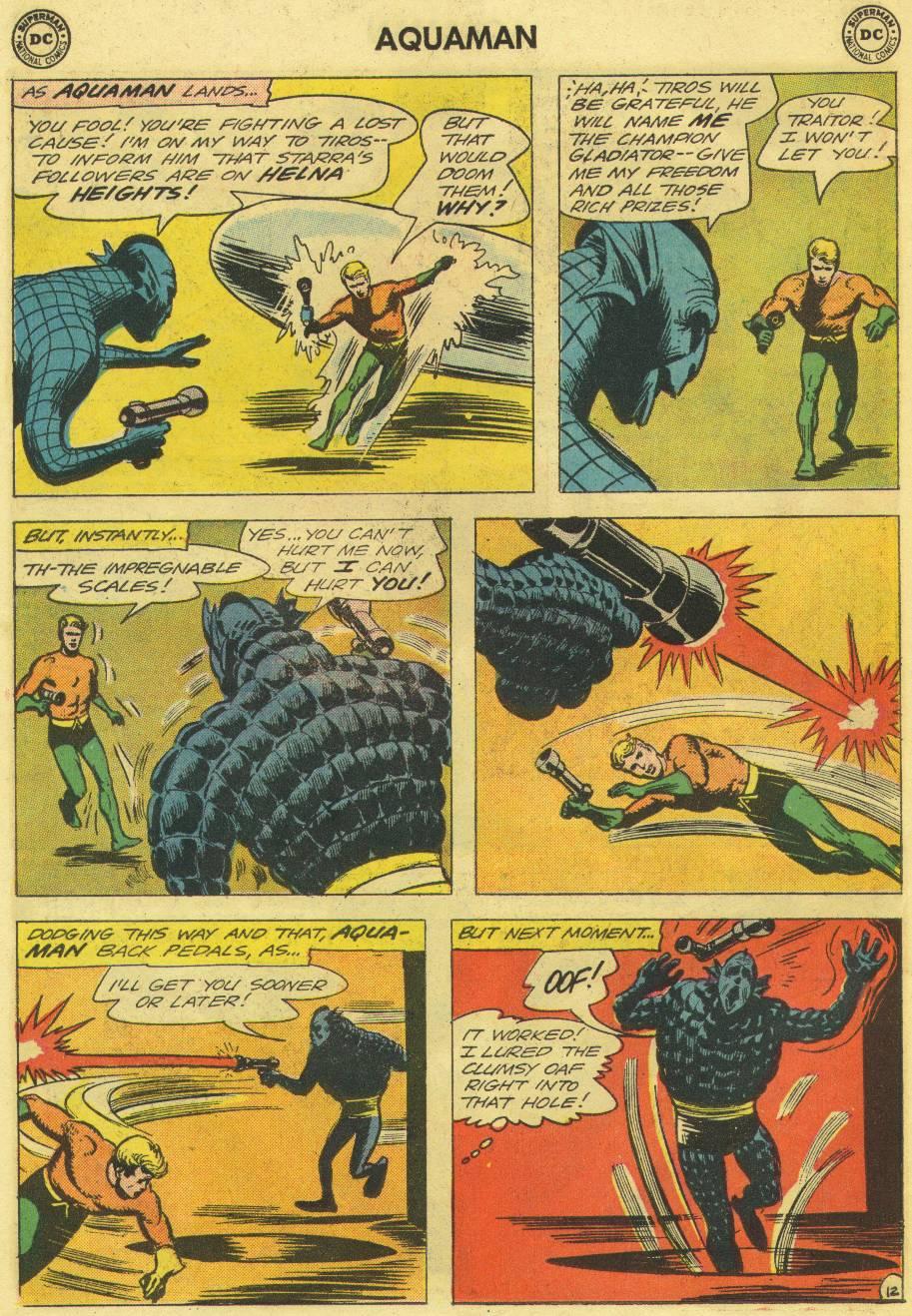 Read online Aquaman (1962) comic -  Issue #12 - 30