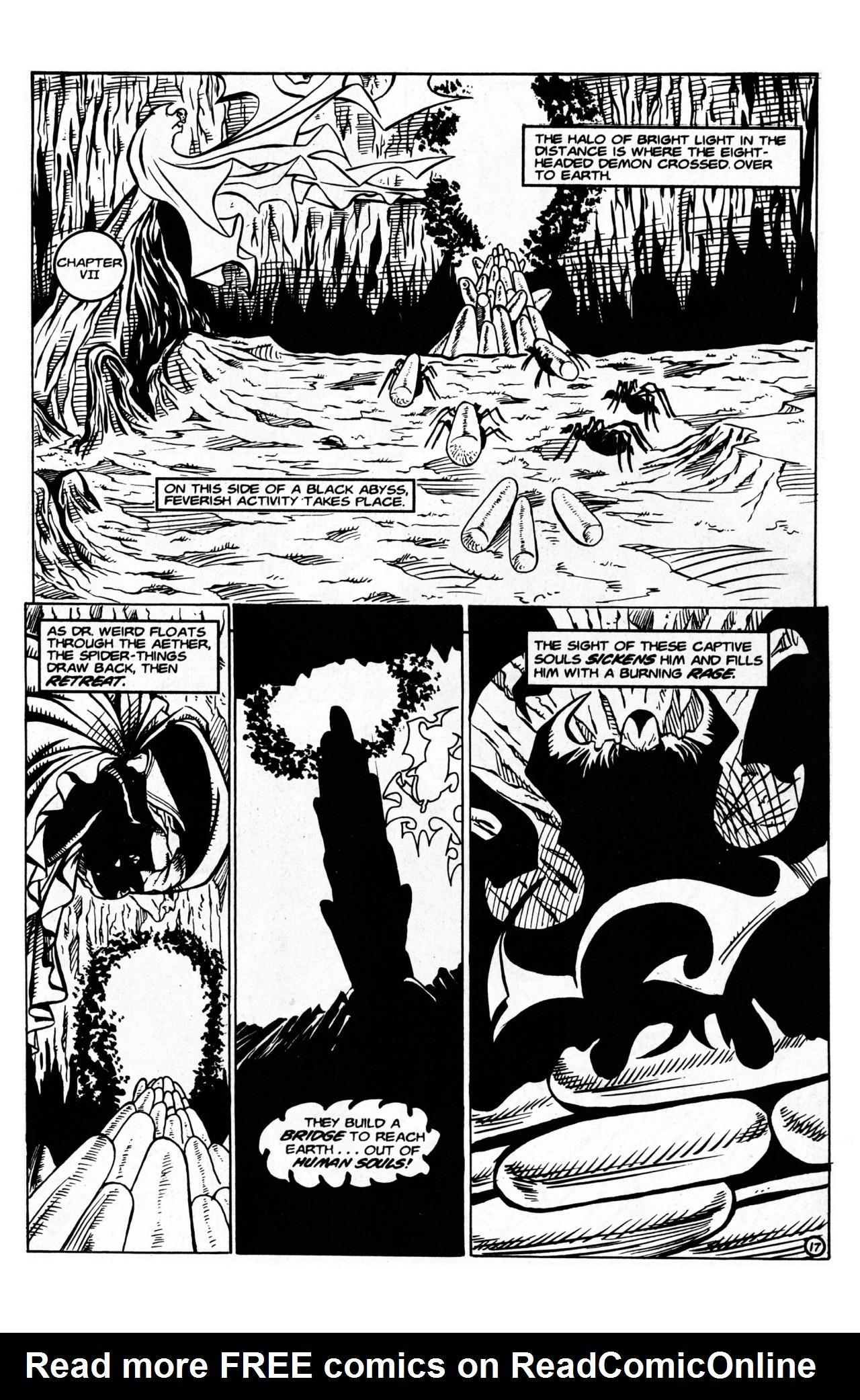 Read online Dr. Weird (1997) comic -  Issue #1 - 19