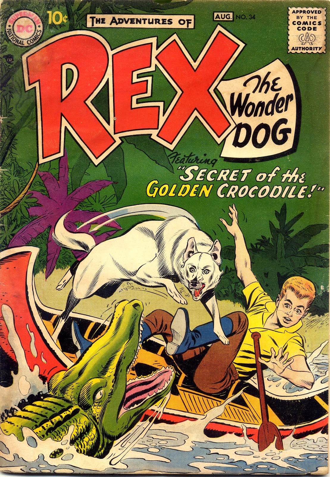 The Adventures of Rex the Wonder Dog issue 34 - Page 1
