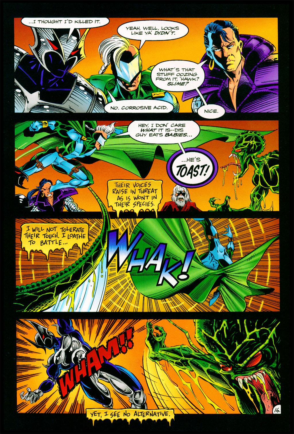 Read online ShadowHawk comic -  Issue #11 - 14