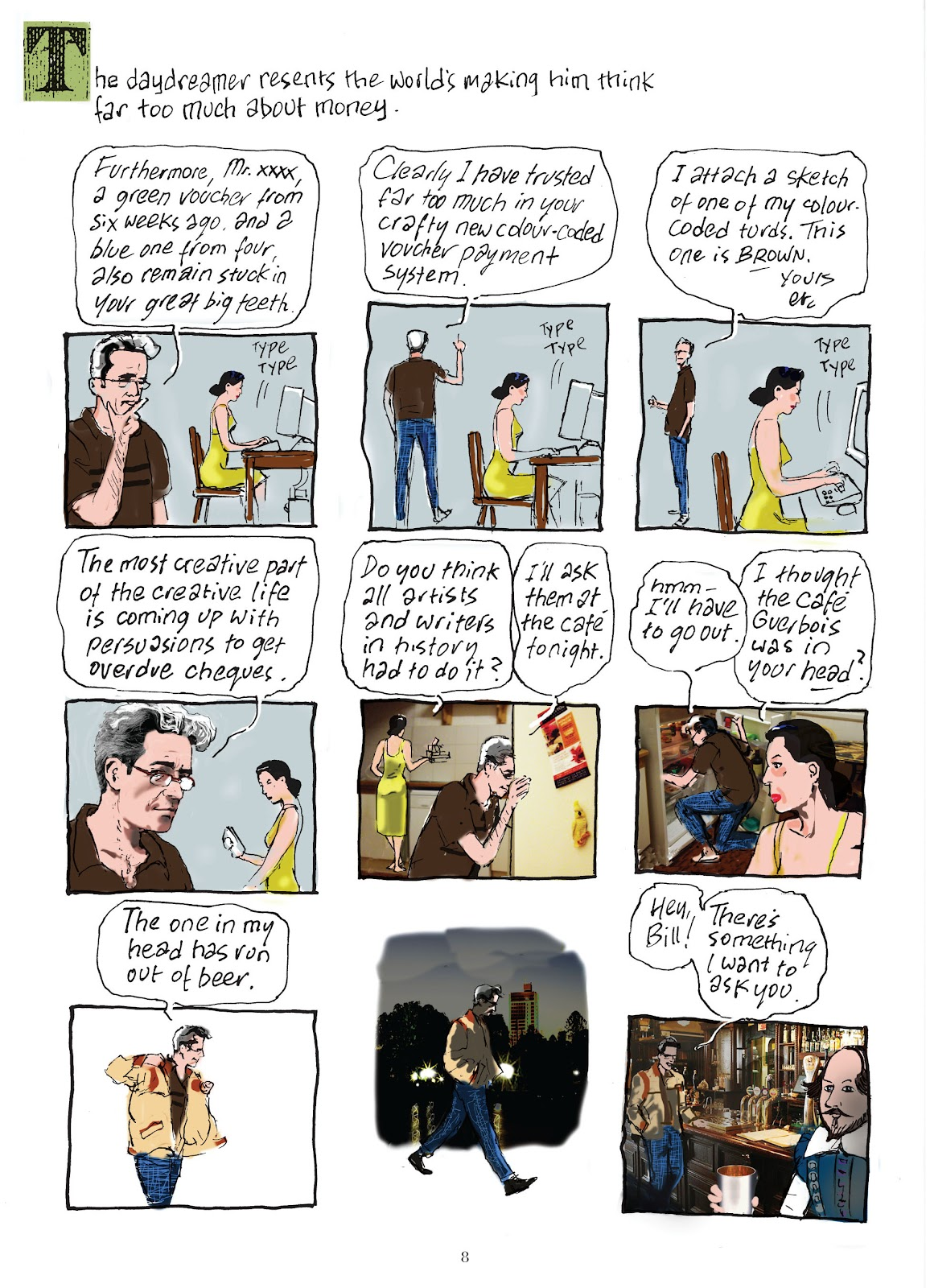 Read online The Lovely Horrible Stuff comic -  Issue # TPB - 10