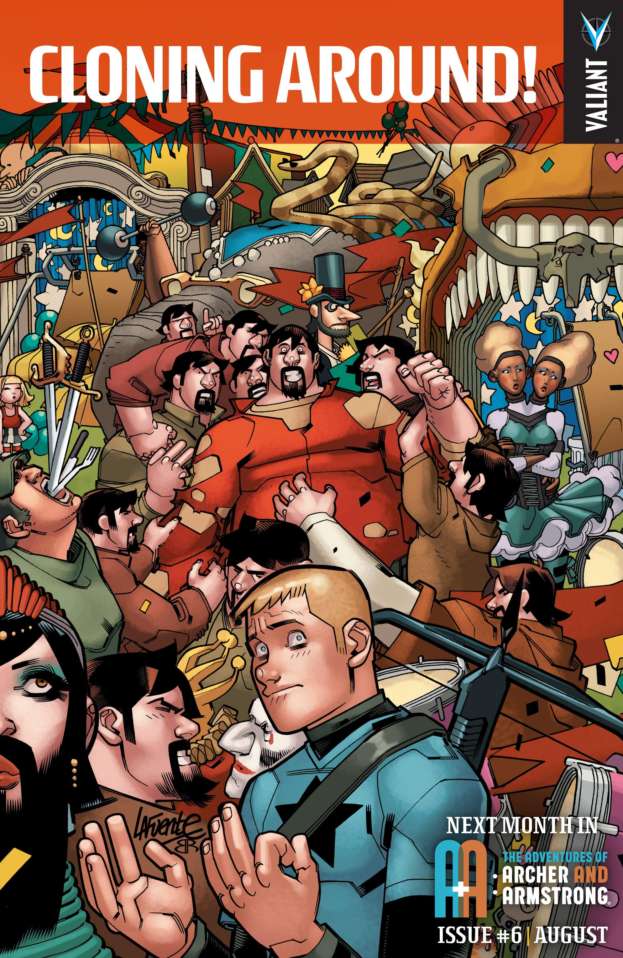 Read online A&A: The Adventures of Archer & Armstrong comic -  Issue #5 - 24