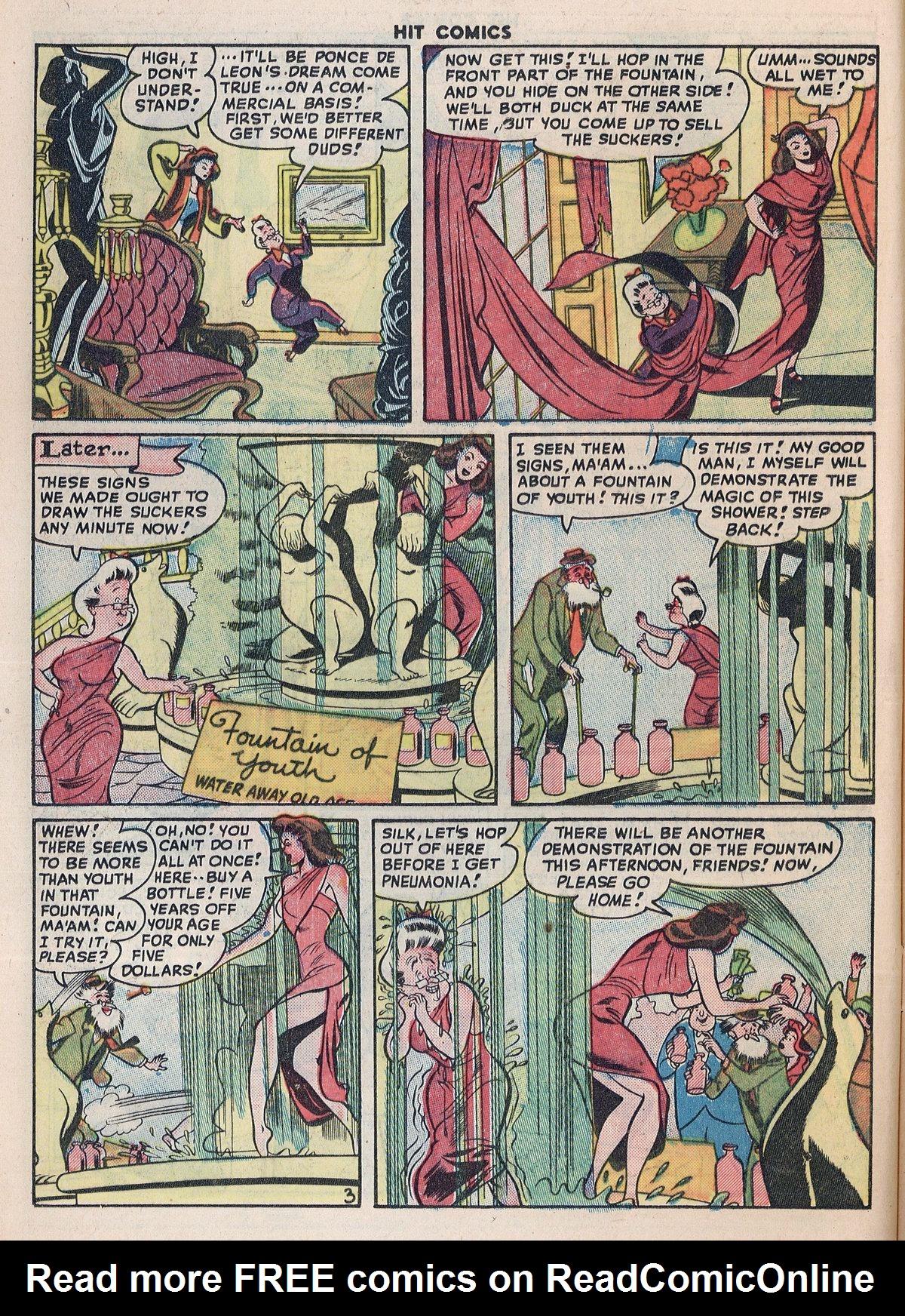 Read online Hit Comics comic -  Issue #55 - 18