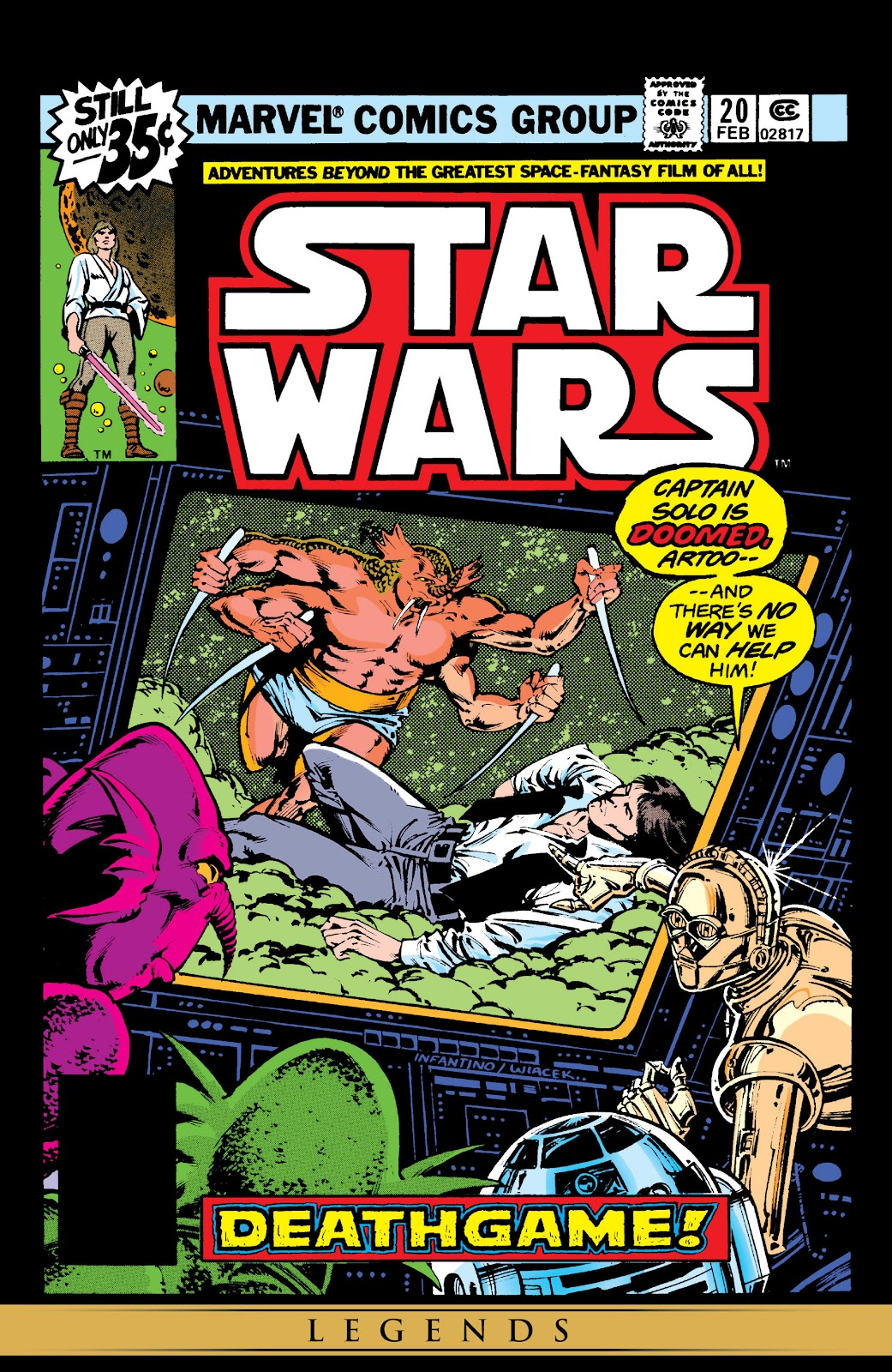Read online Star Wars Legends: The Original Marvel Years - Epic Collection comic -  Issue # TPB 1 (Part 4) - 51