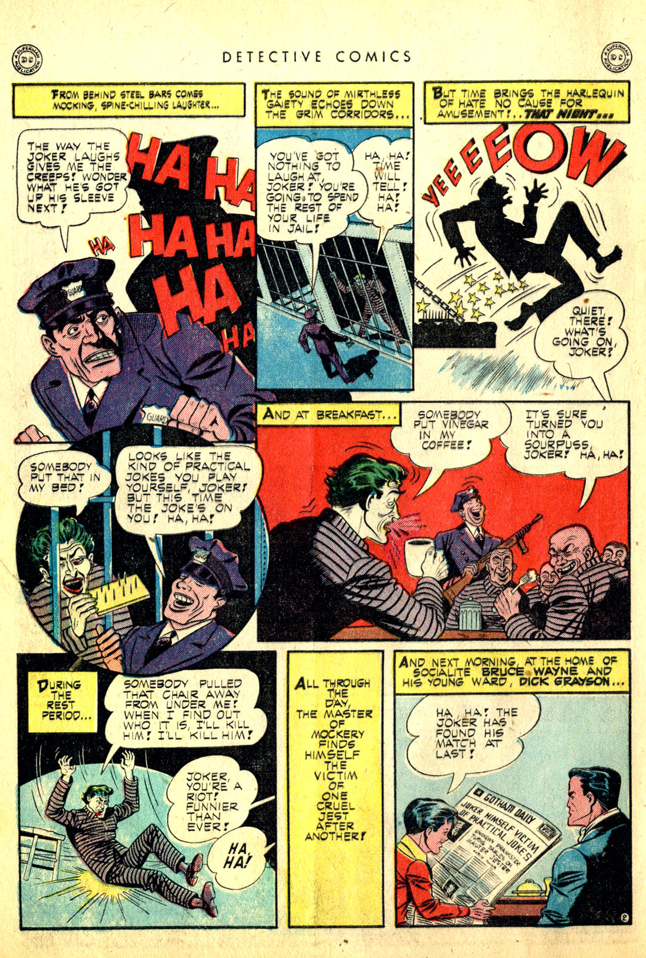 Read online Detective Comics (1937) comic -  Issue #91 - 4