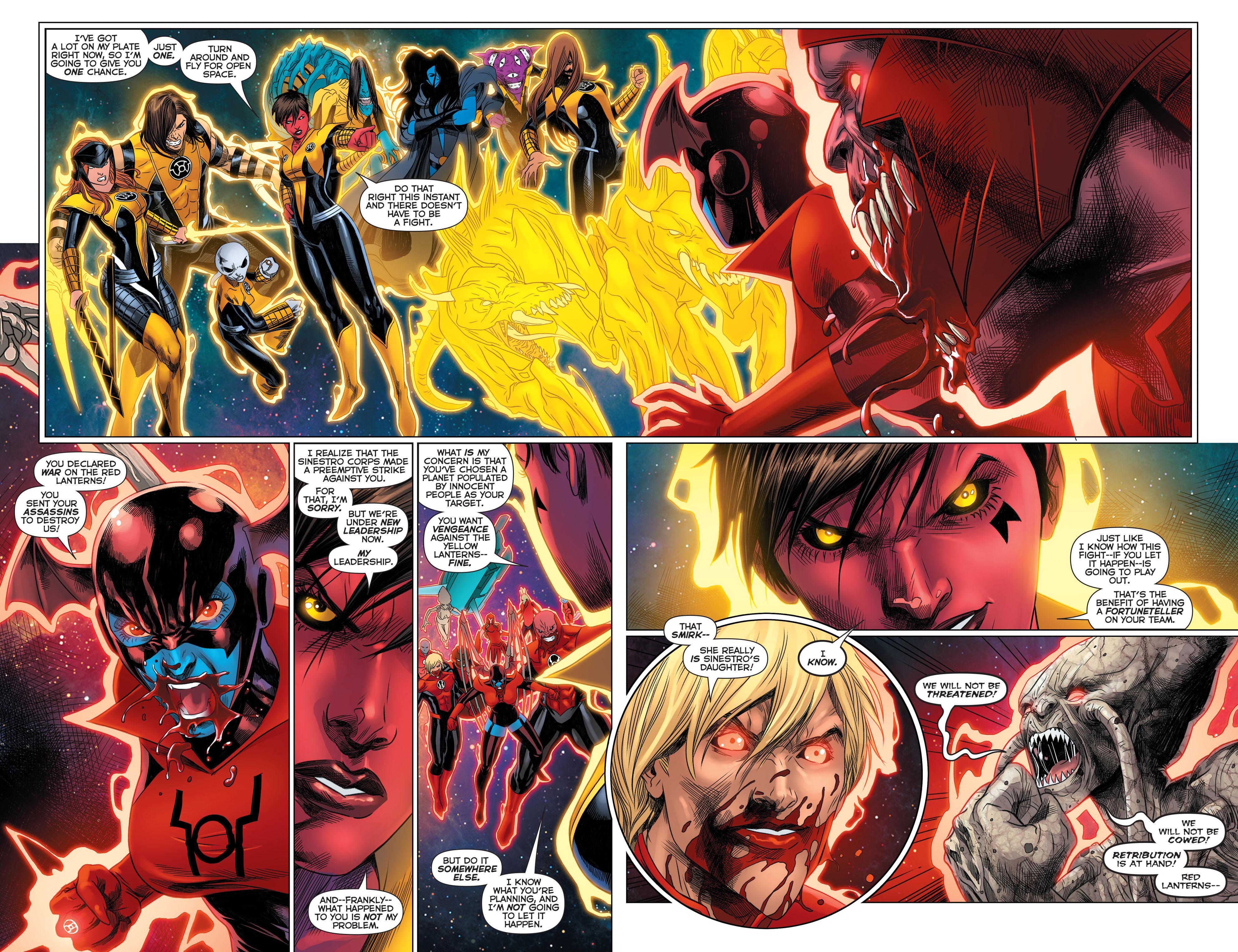 Read online Sinestro comic -  Issue #23 - 6