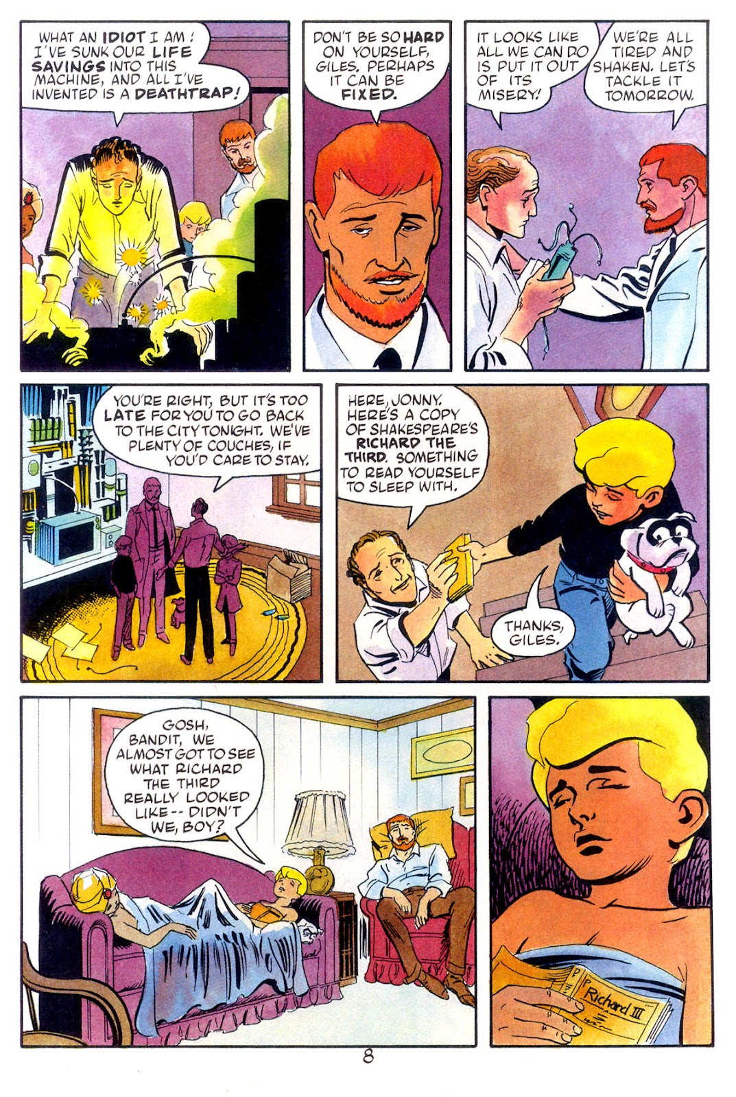 Jonny Quest (1986) issue 10 - Page 10