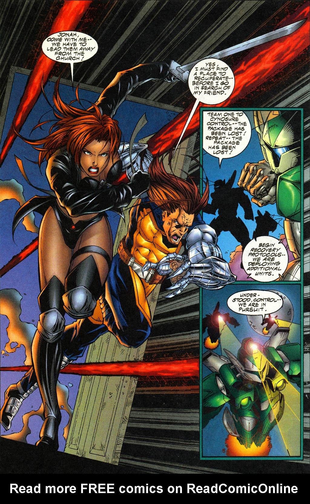 Read online Avengelyne (1996) comic -  Issue #4 - 19