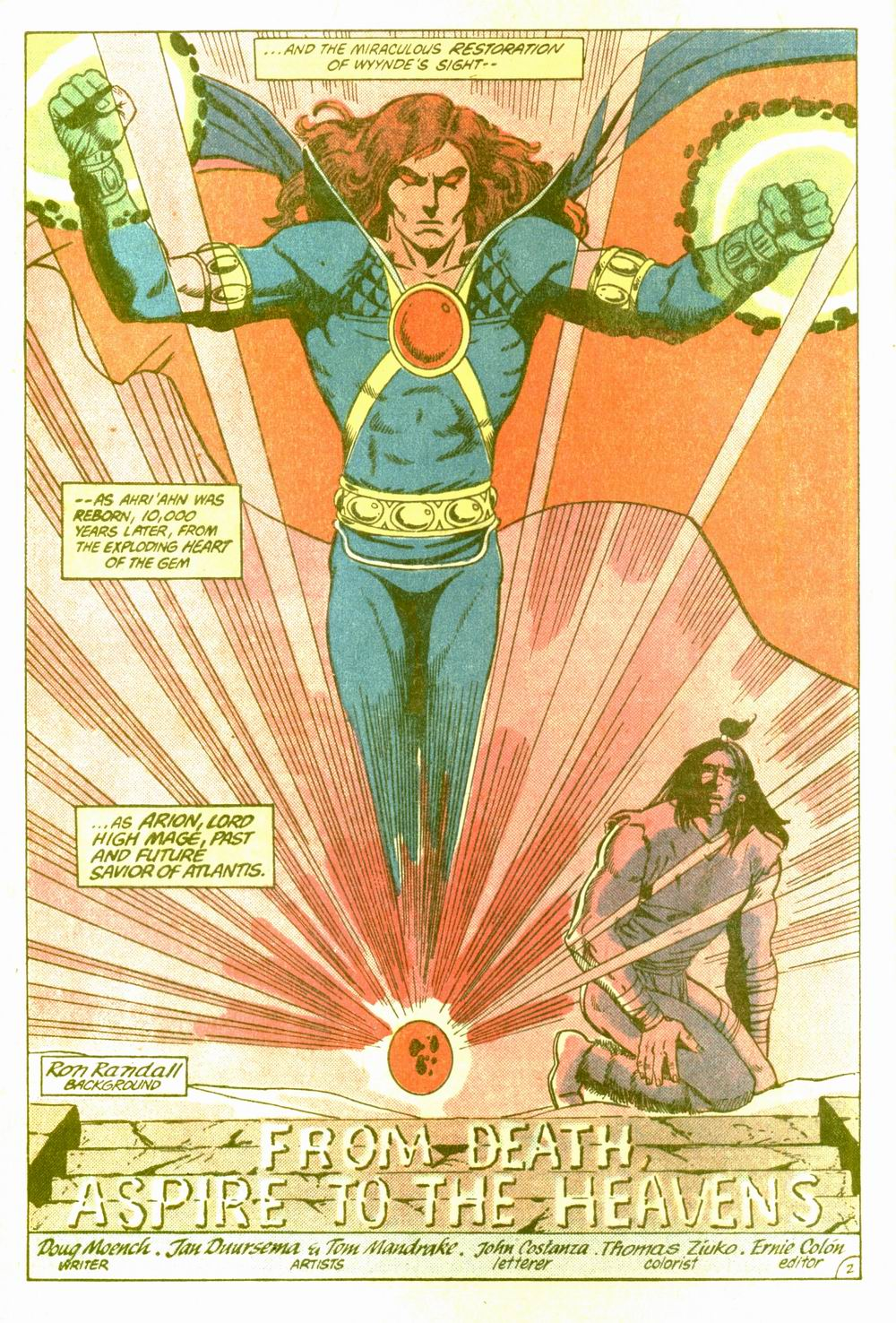 Read online Arion, Lord of Atlantis comic -  Issue #5 - 3