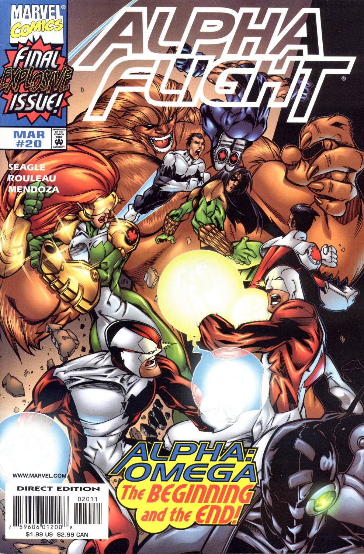 Read online Alpha Flight (1997) comic -  Issue #20 - 1
