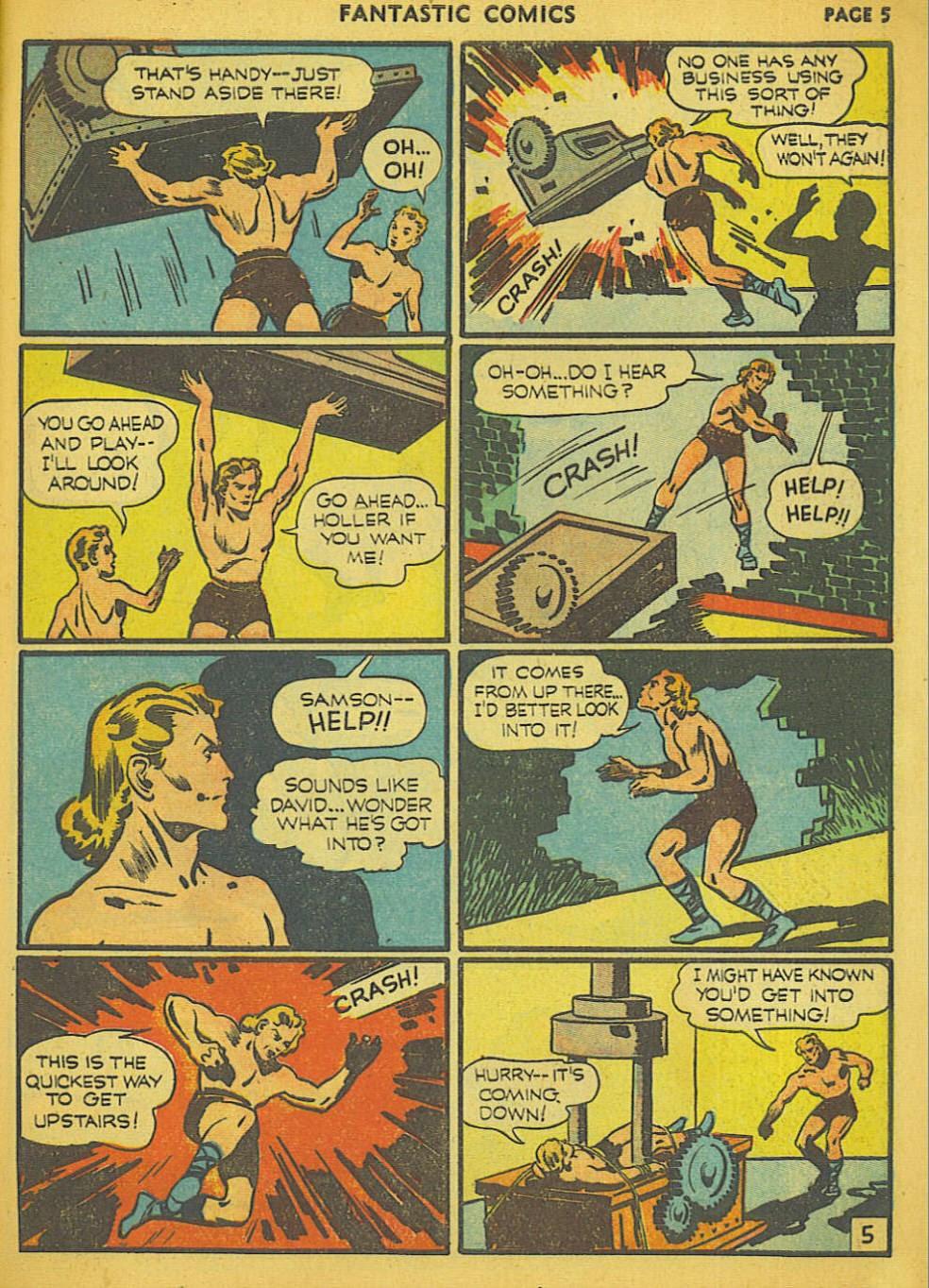 Read online Fantastic Comics comic -  Issue #15 - 44
