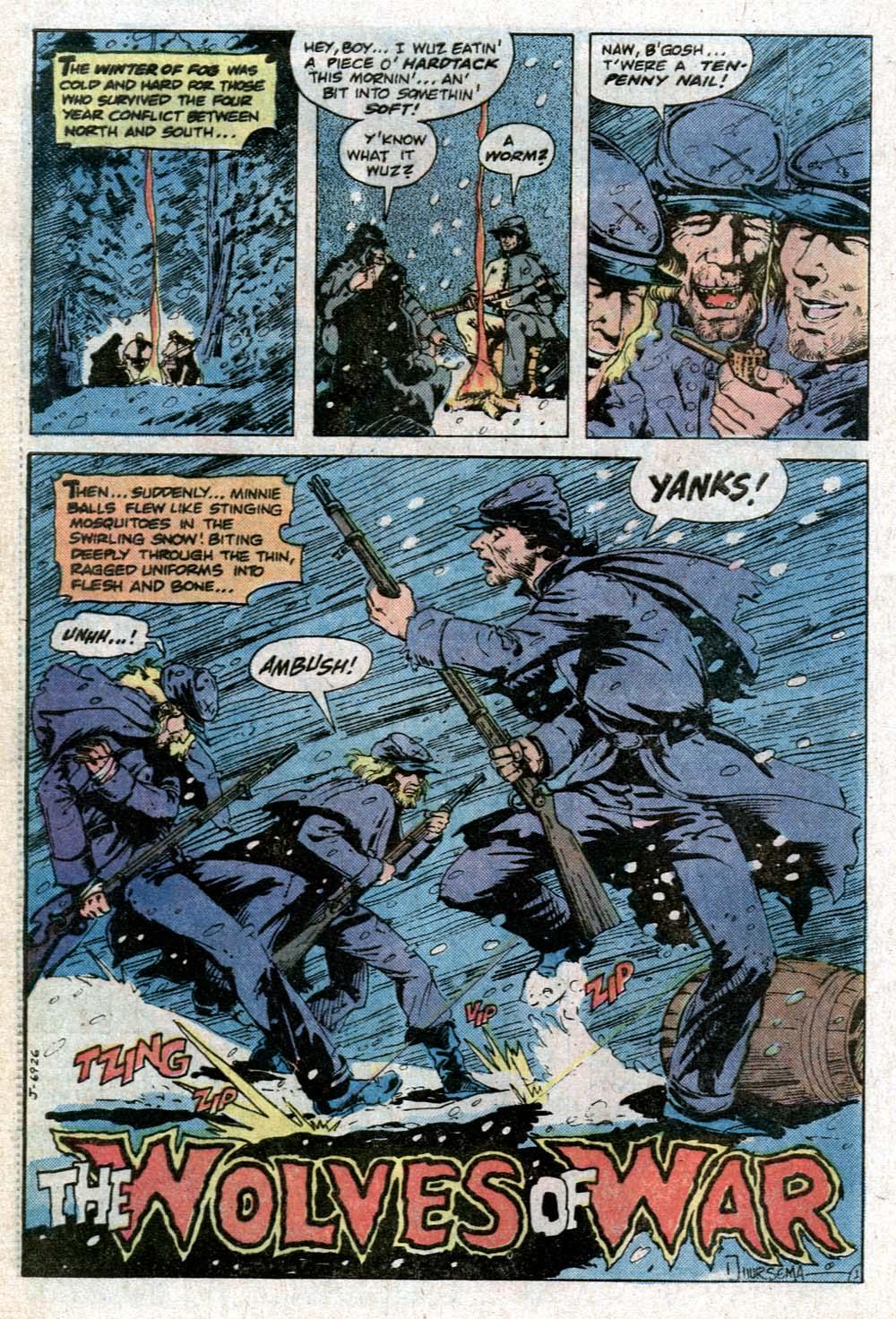 Read online Sgt. Rock comic -  Issue #352 - 27