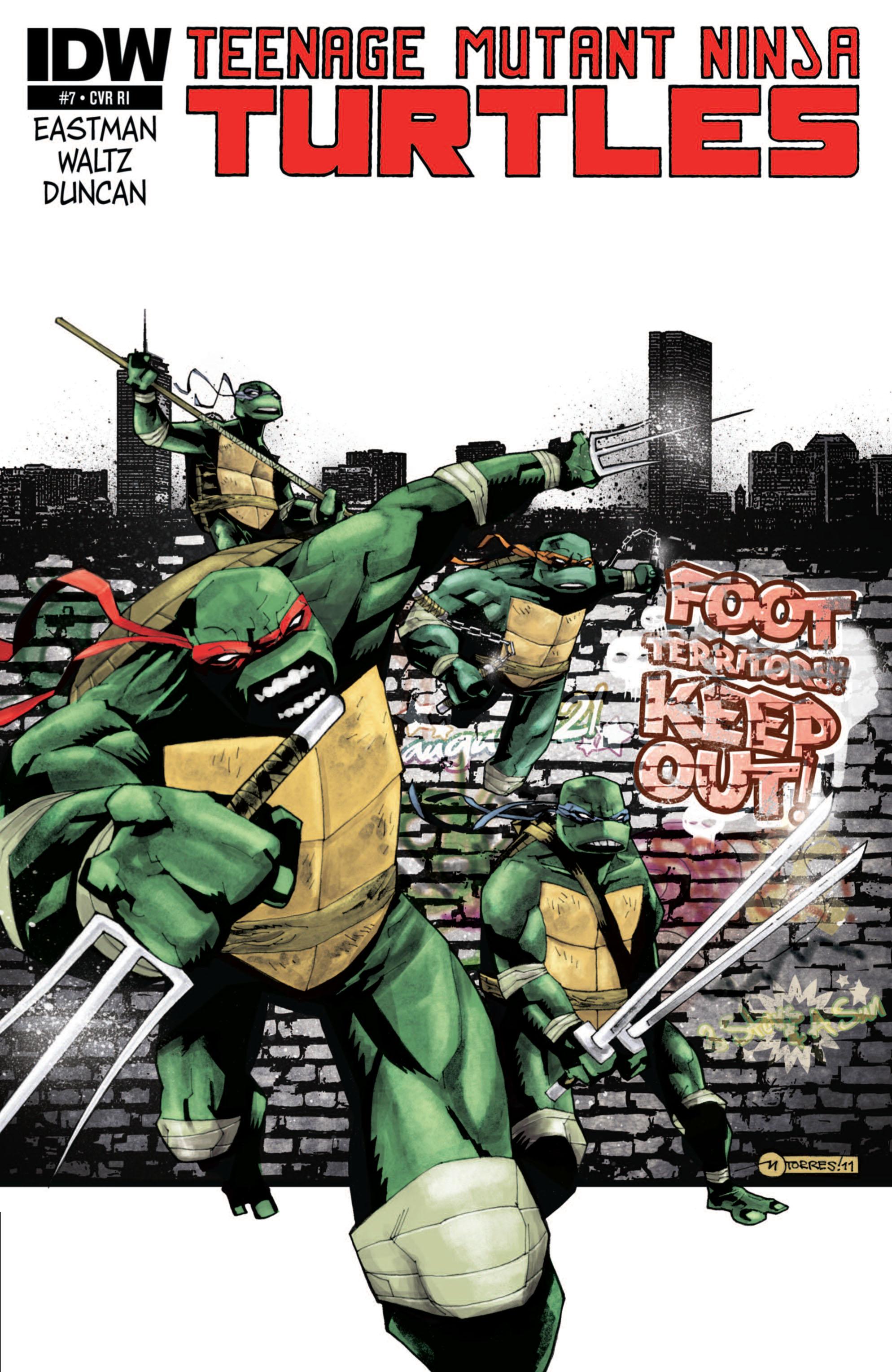 Teenage Mutant Ninja Turtles (2011) 7 Page 3