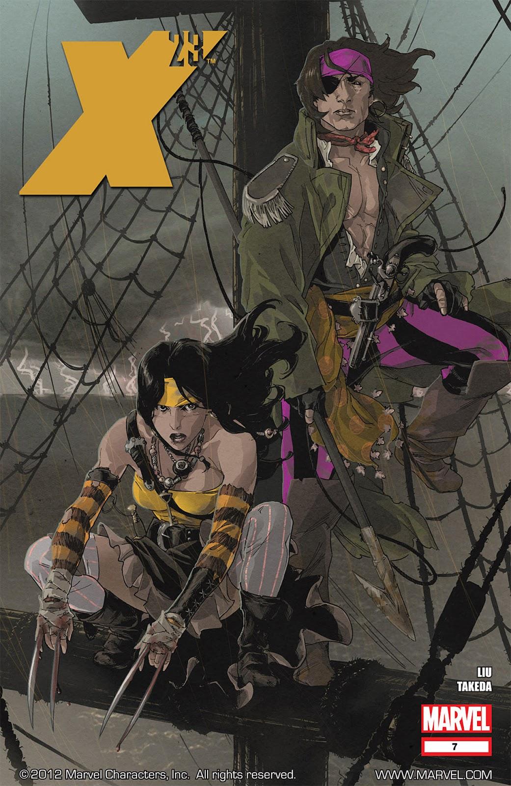 X-23 (II) 7 Page 1