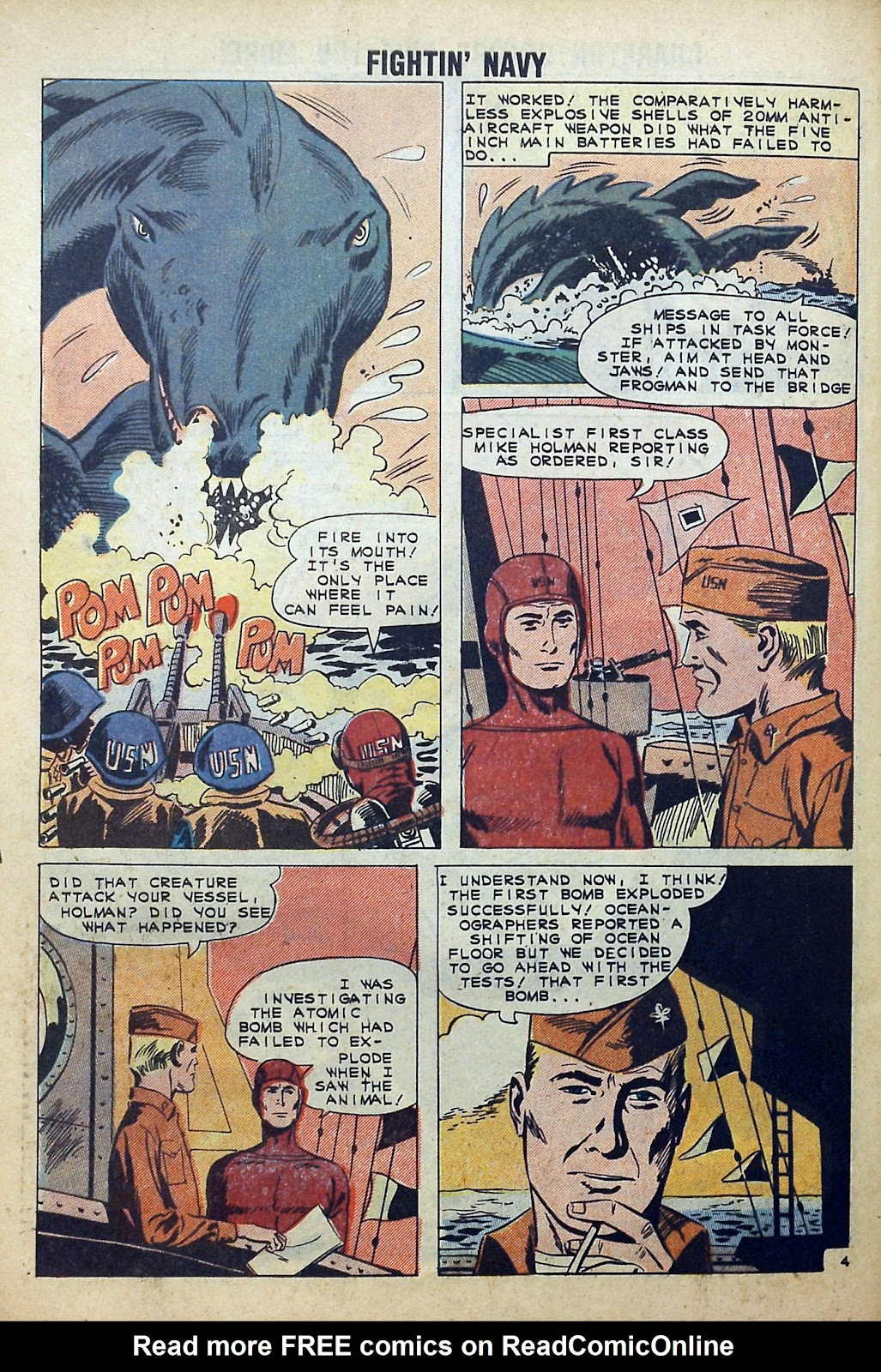 Read online Fightin' Navy comic -  Issue #99 - 28