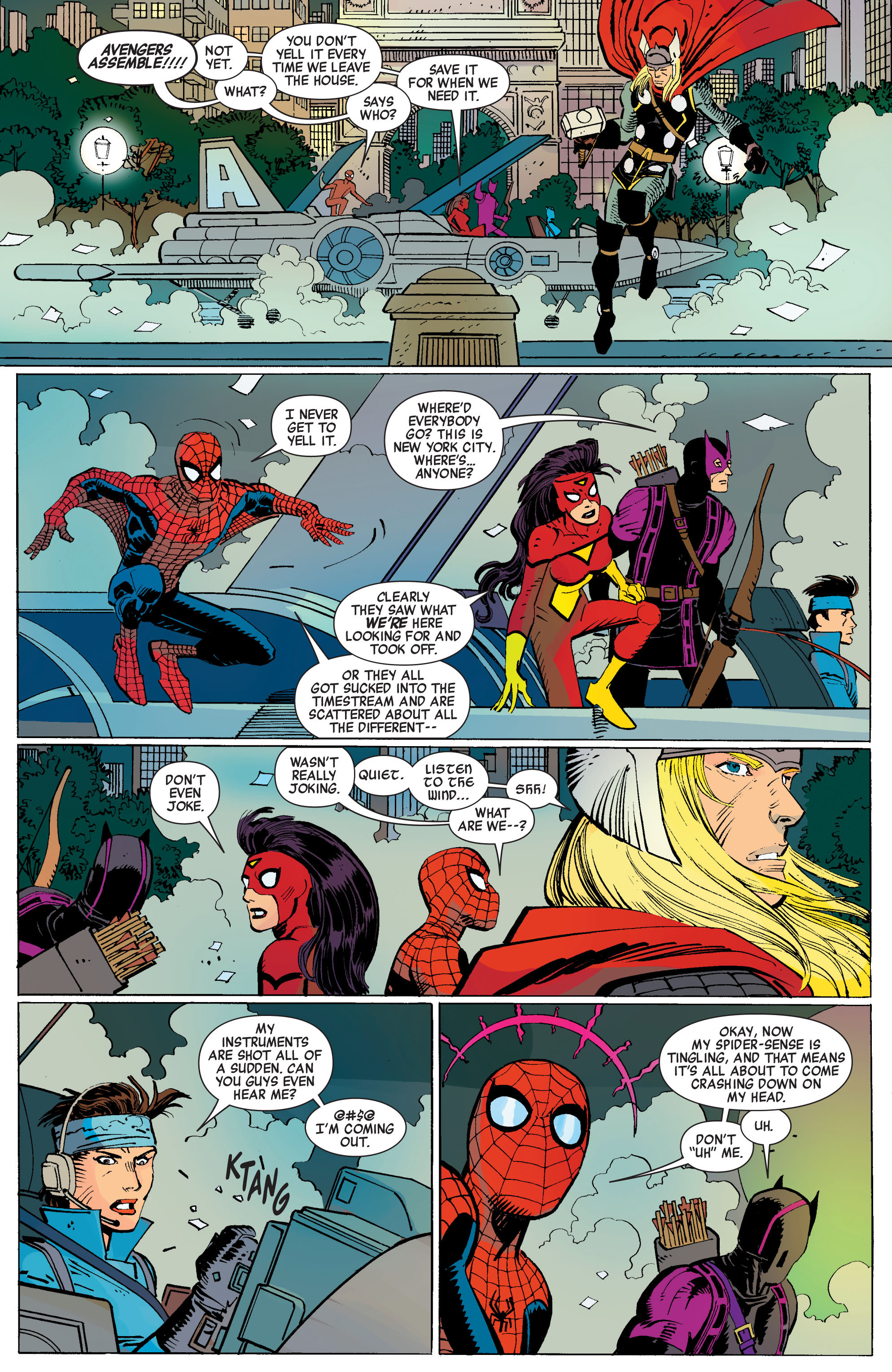 Read online Avengers (2010) comic -  Issue #3 - 22