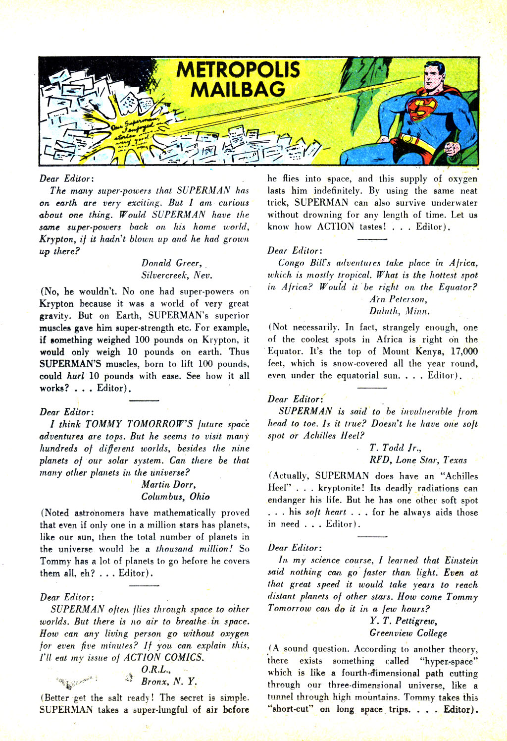 Read online Action Comics (1938) comic -  Issue #246 - 26