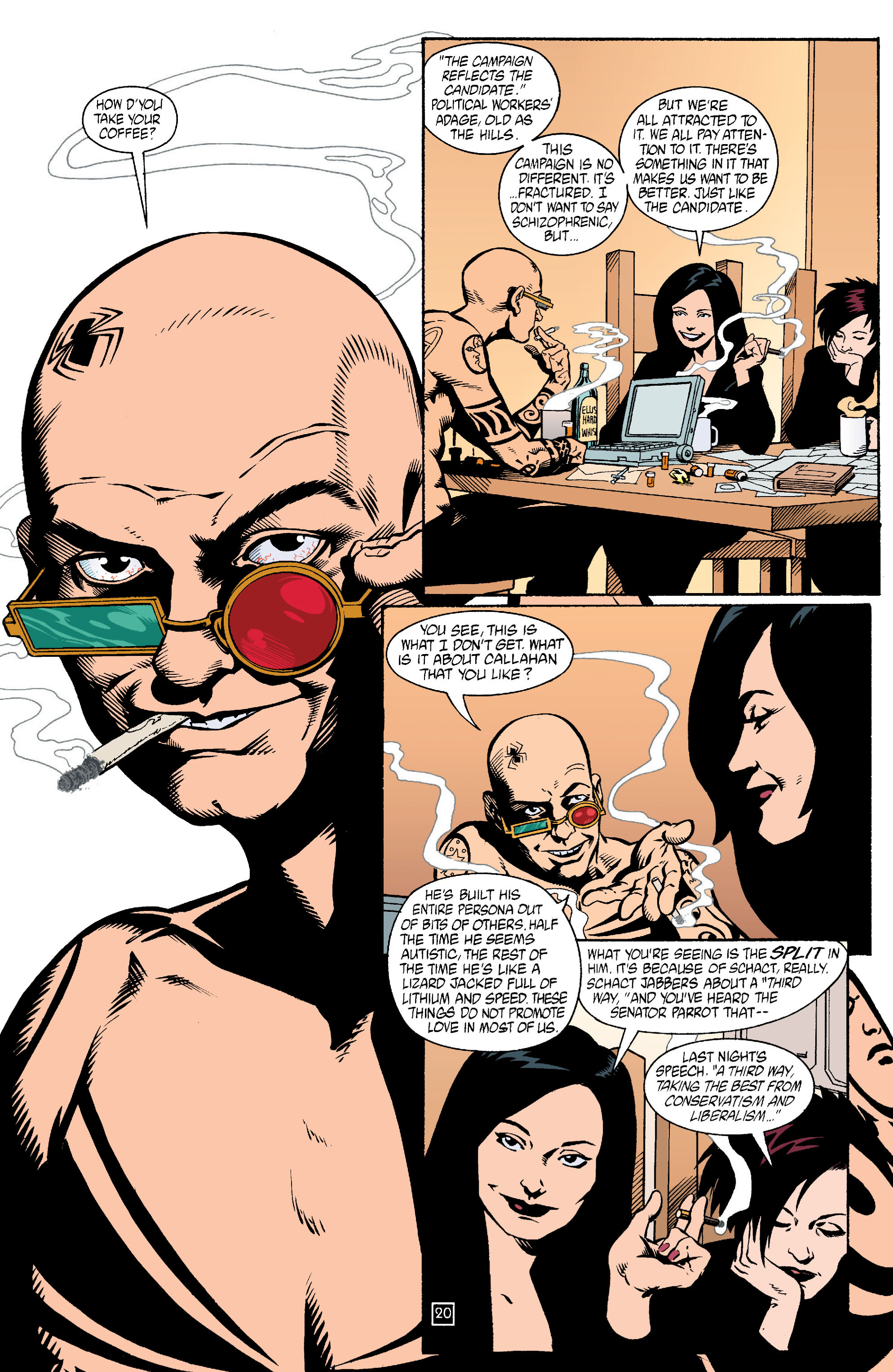 Read online Transmetropolitan comic -  Issue #15 - 21