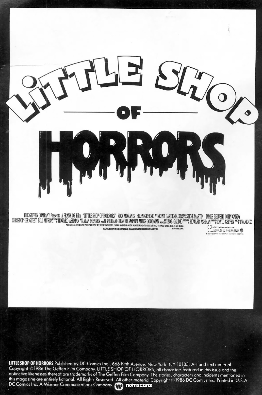 Little Shop of Horrors Full Page 2