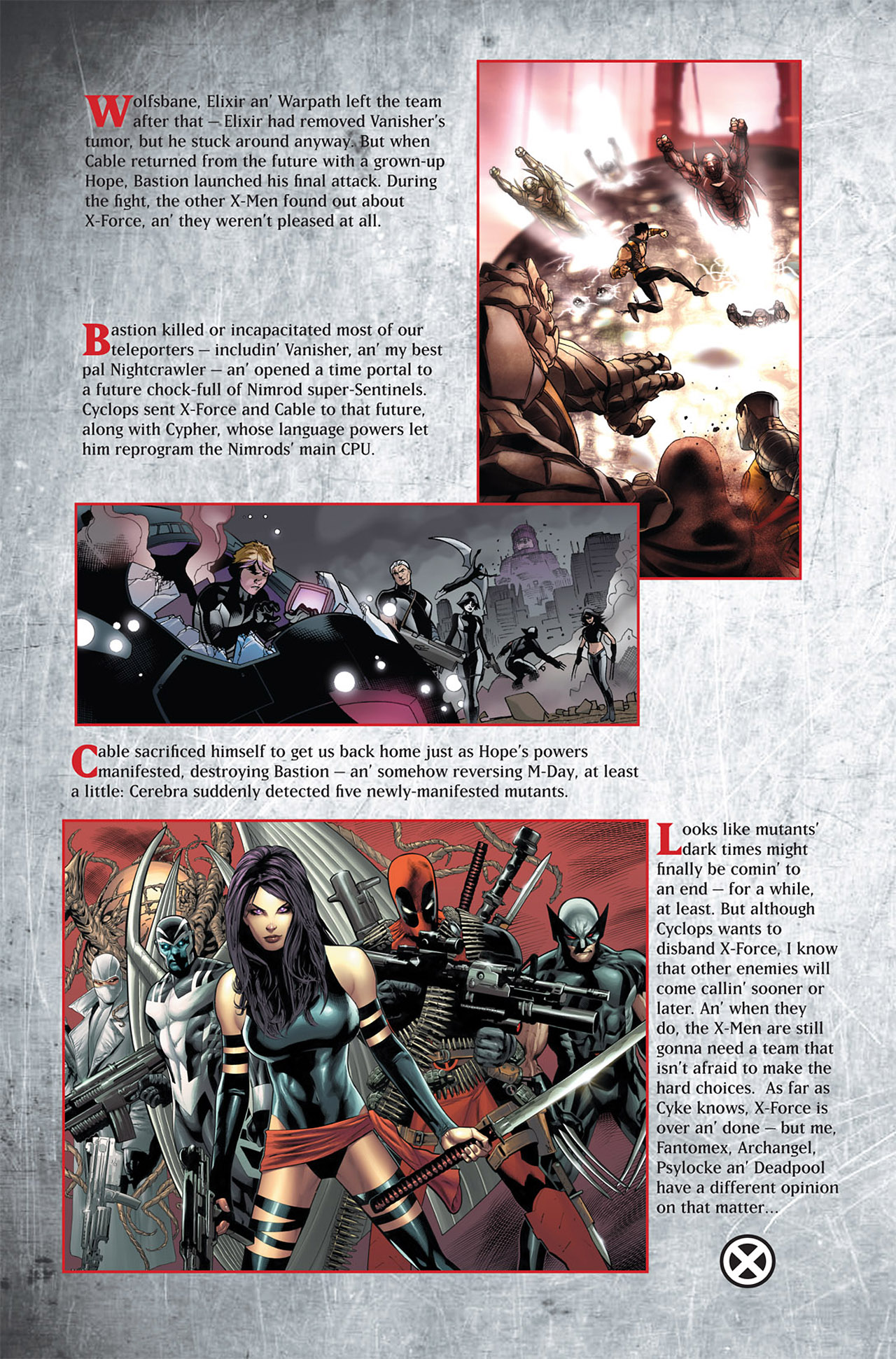 Read online Uncanny X-Force (2010) comic -  Issue #1 - 31