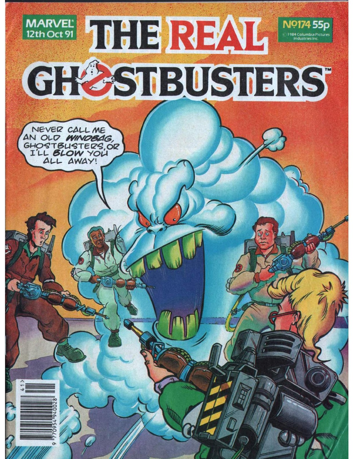 The Real Ghostbusters 174 Page 1