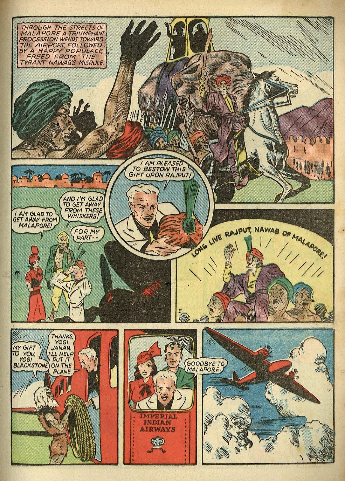 Read online Super-Magician Comics comic -  Issue #1 - 39