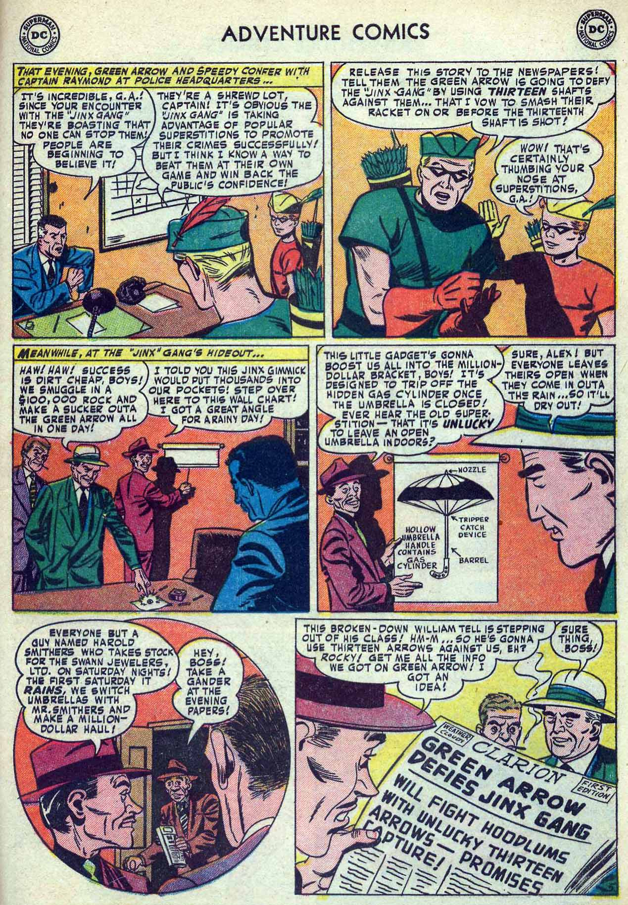 Read online Adventure Comics (1938) comic -  Issue #180 - 39