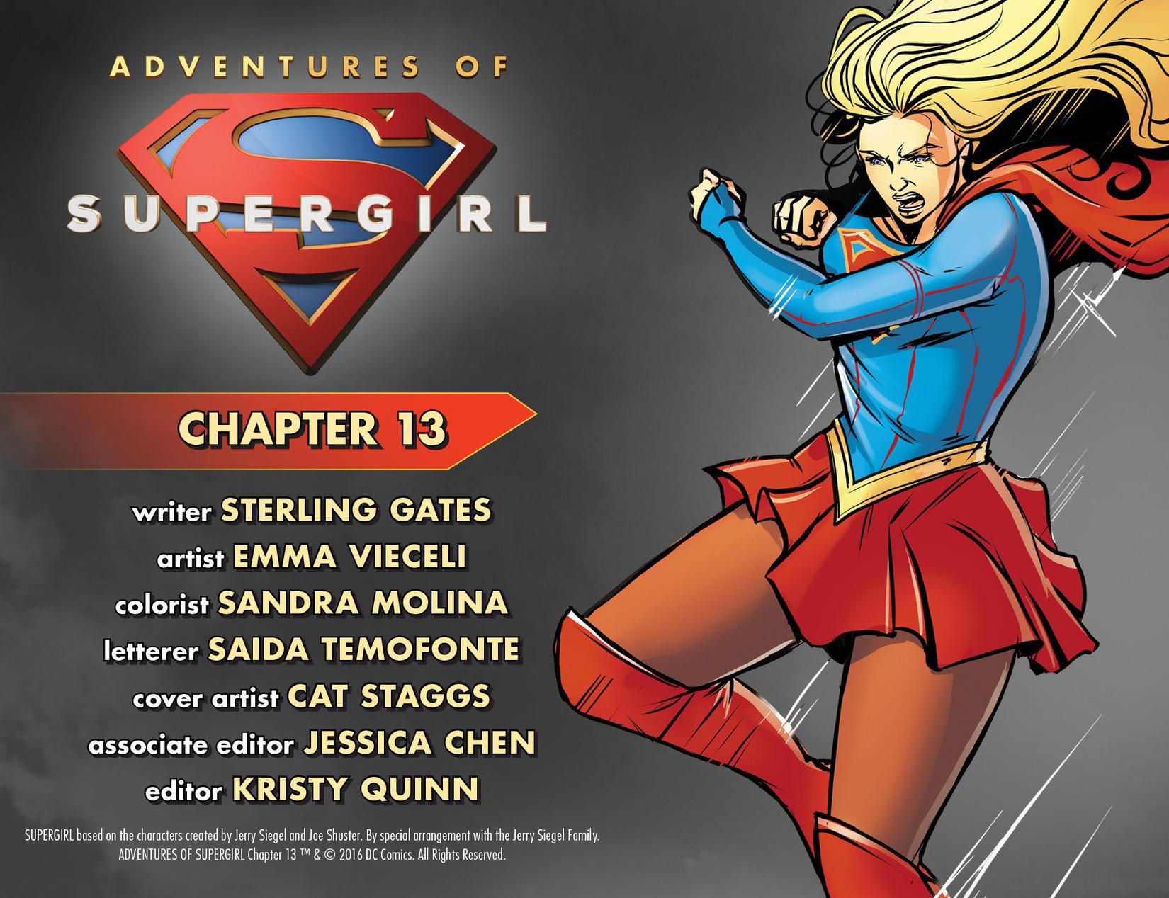Read online Adventures of Supergirl comic -  Issue #13 - 2