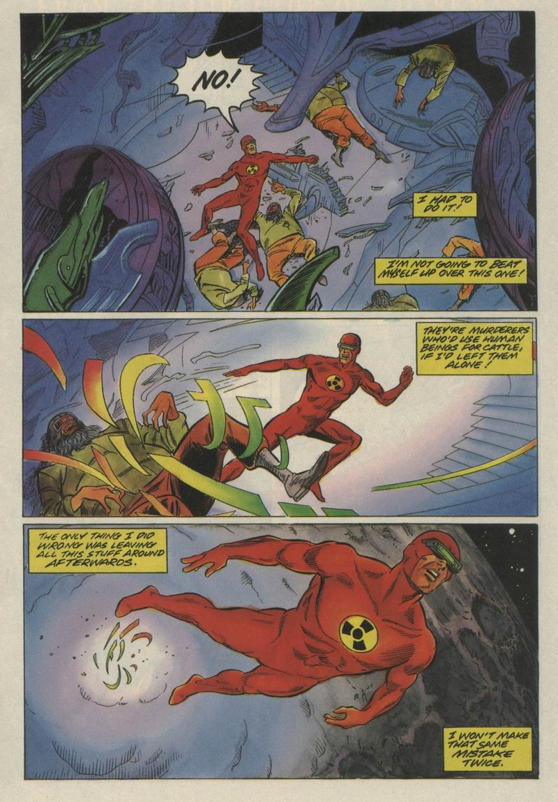 Read online Solar, Man of the Atom comic -  Issue #21 - 11