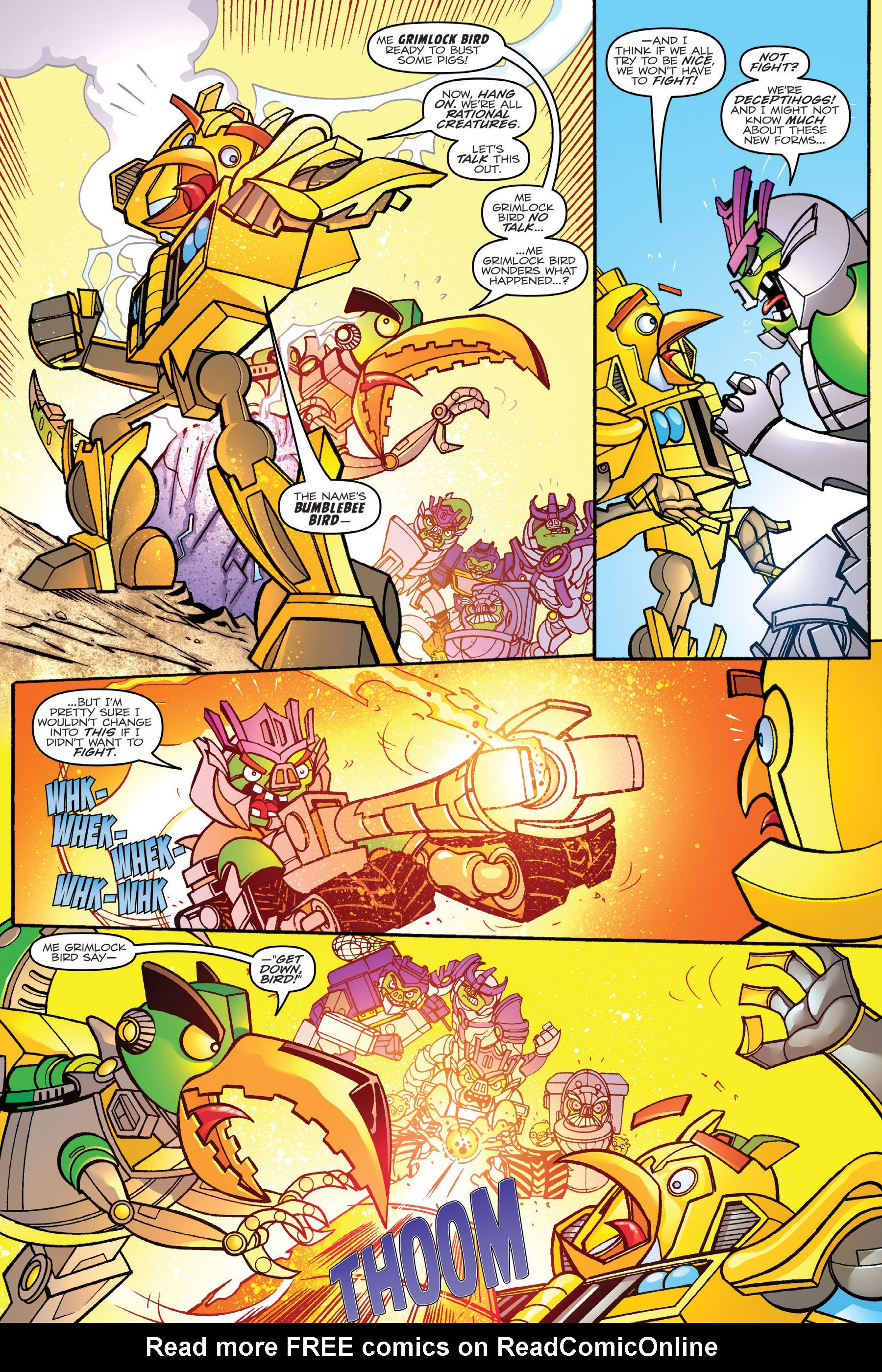 Read online Angry Birds Transformers: Age of Eggstinction comic -  Issue # Full - 23