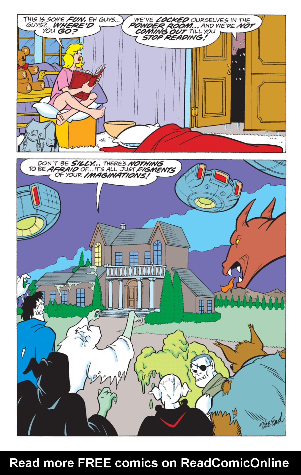 Read online Archie's Weird Mysteries comic -  Issue #23 - 25