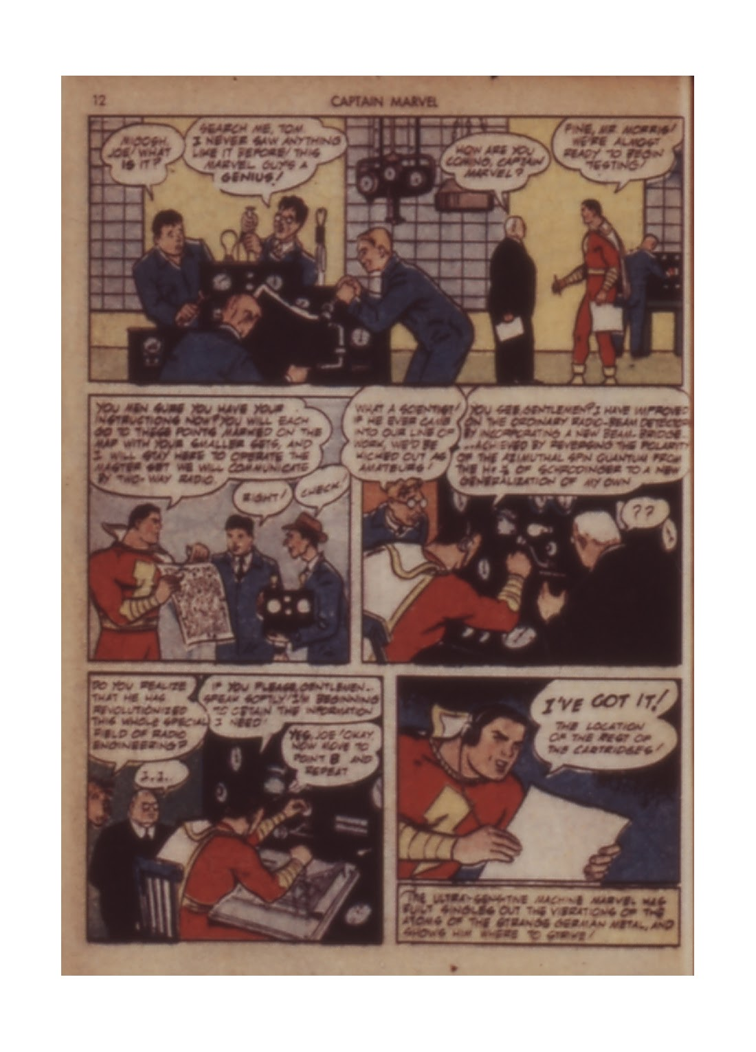Captain Marvel Adventures issue 11 - Page 12