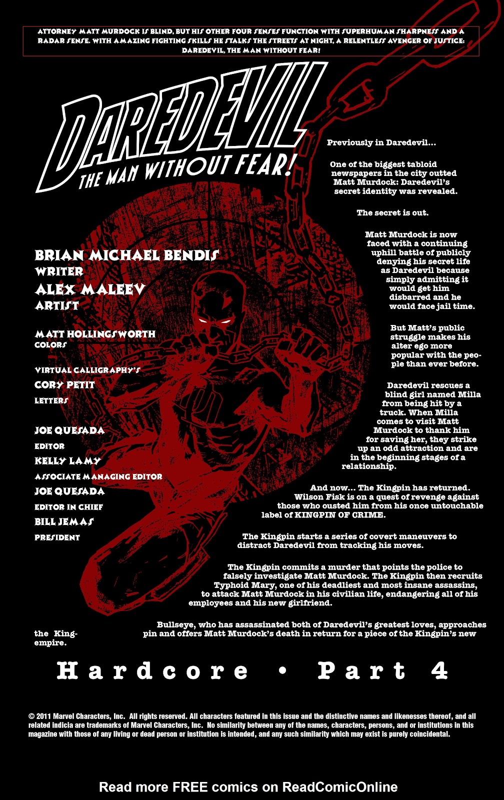 Read online Daredevil (1998) comic -  Issue # _Ultimate_Collection TPB 2 (Part 2) - 84